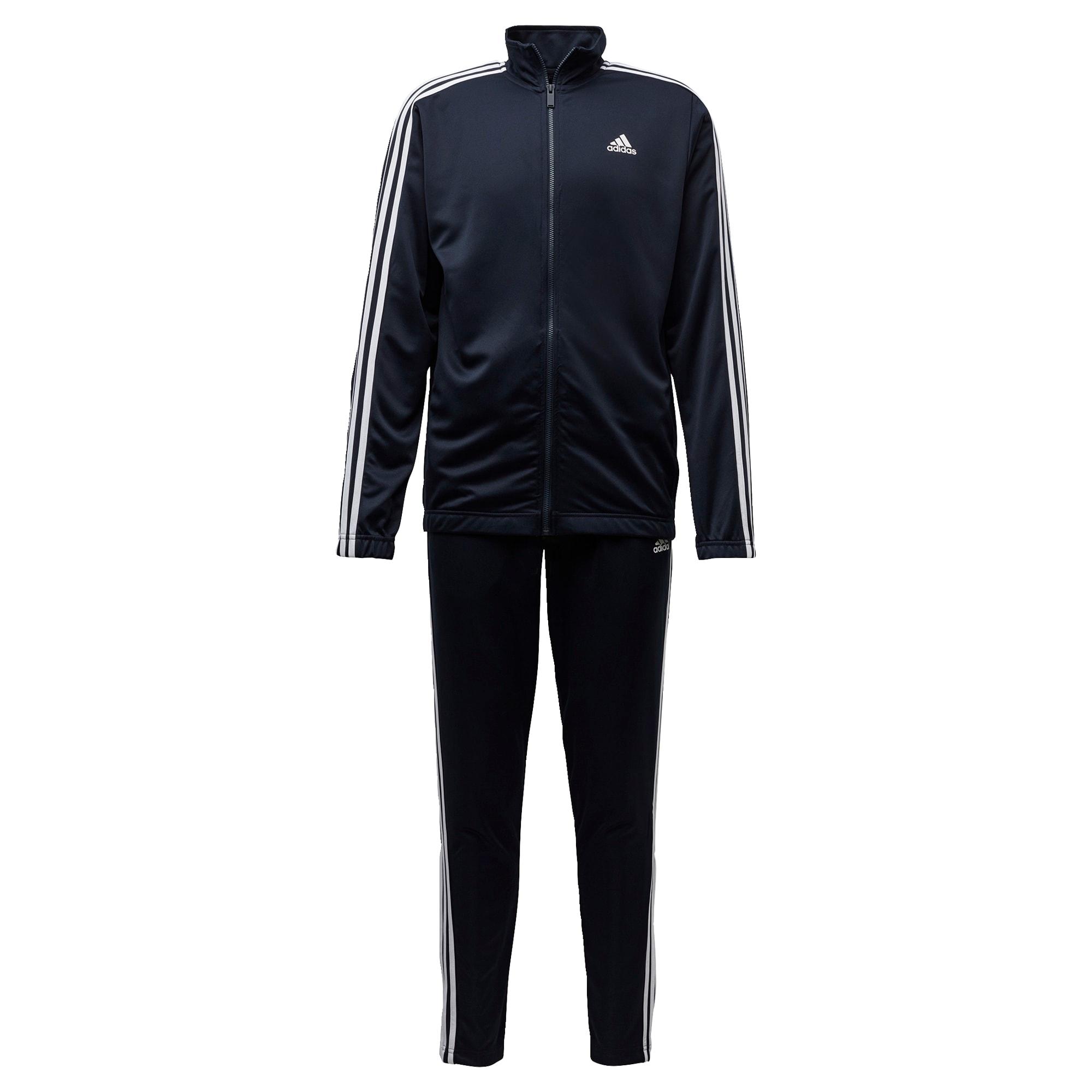 ADIDAS PERFORMANCE Treniruočių kostiumas tamsiai mėlyna / balta