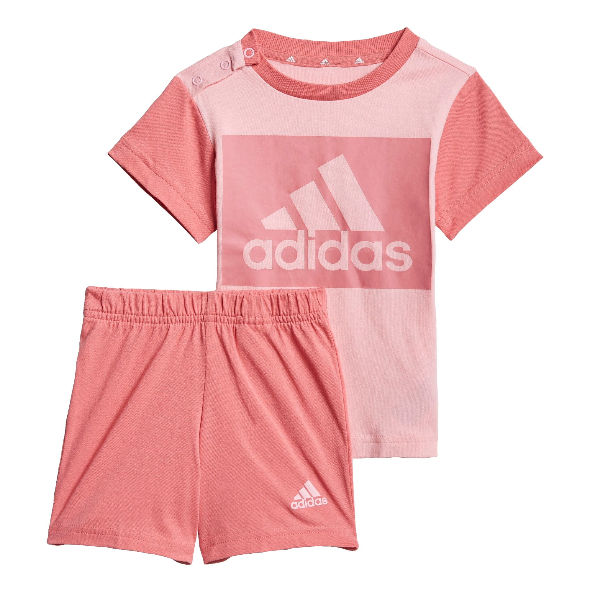 ADIDAS PERFORMANCE Sportinis kostiumas pastelinė rožinė / pitajų spalva