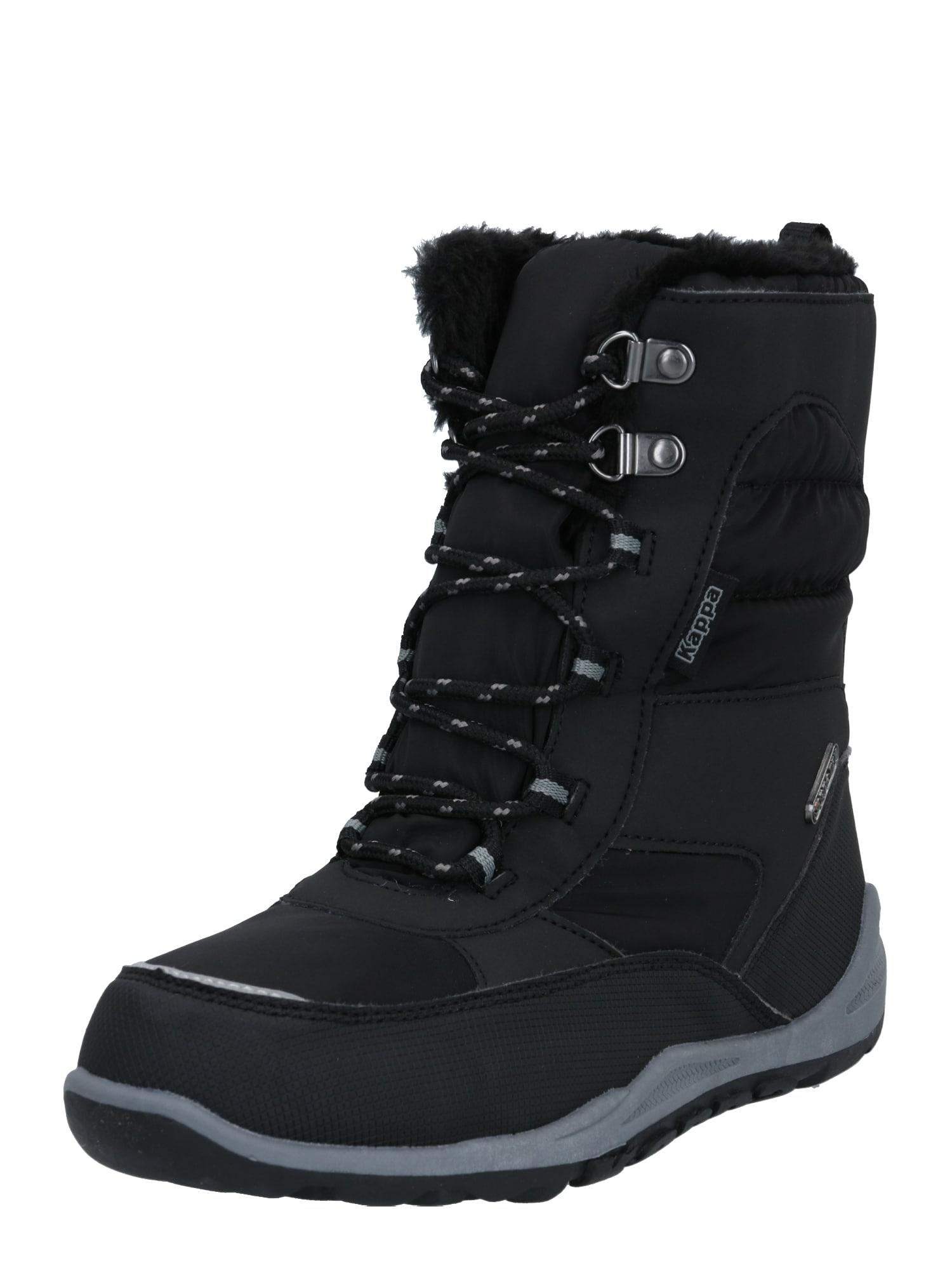KAPPA Sniego batai juoda / pilka