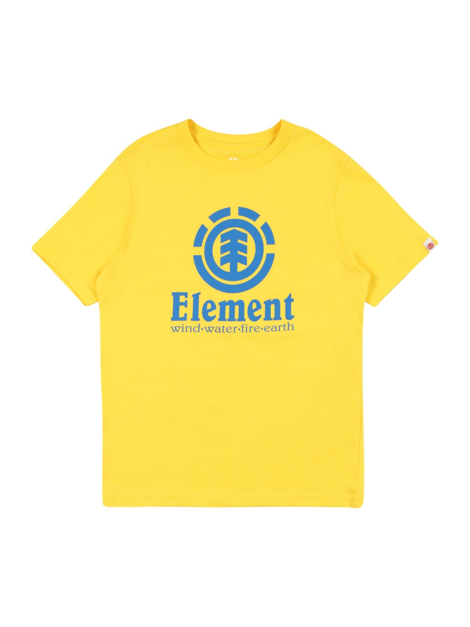 ELEMENT Sportiniai marškinėliai tamsiai geltona