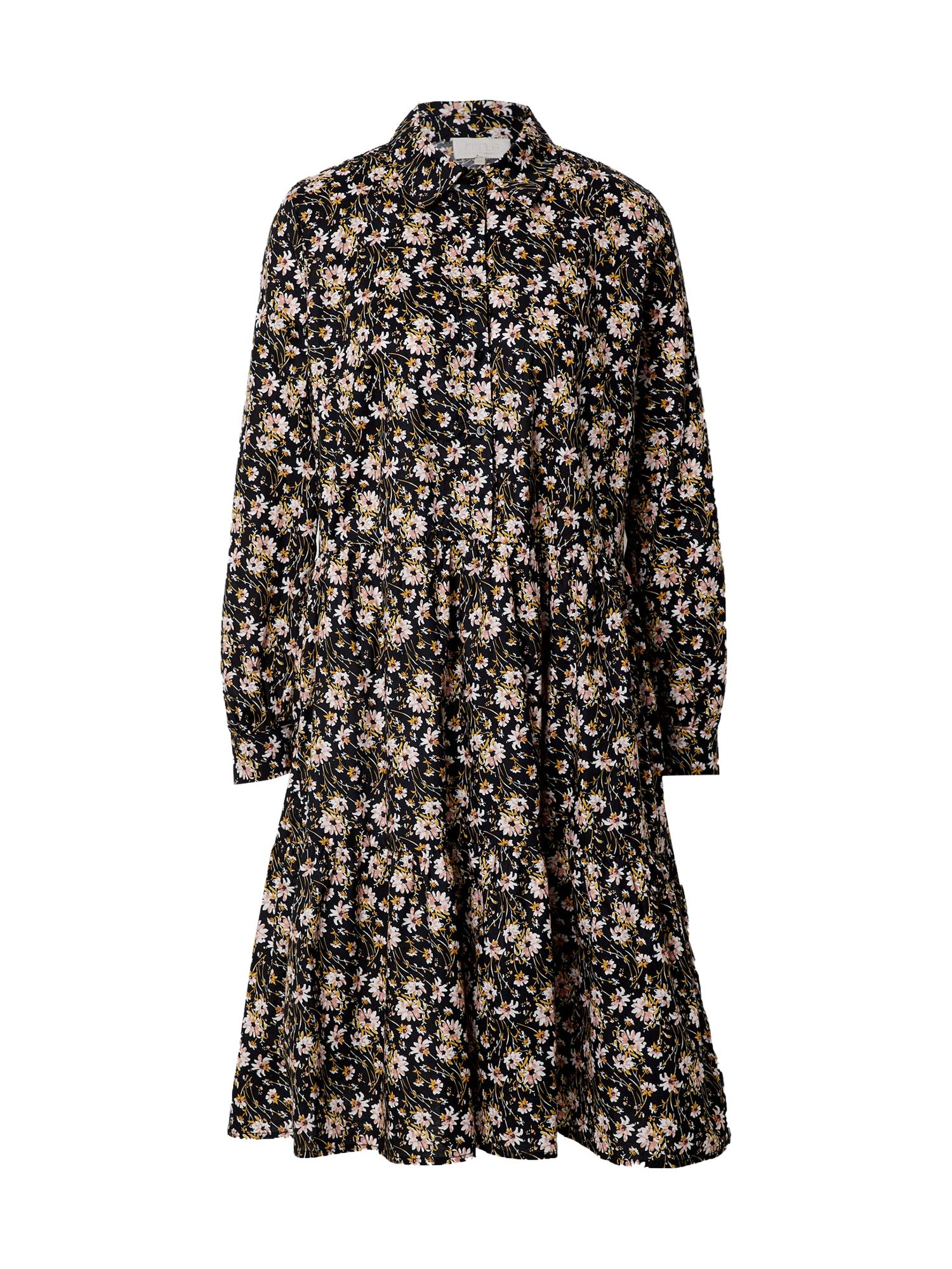 minus Palaidinės tipo suknelė juoda / mišrios spalvos