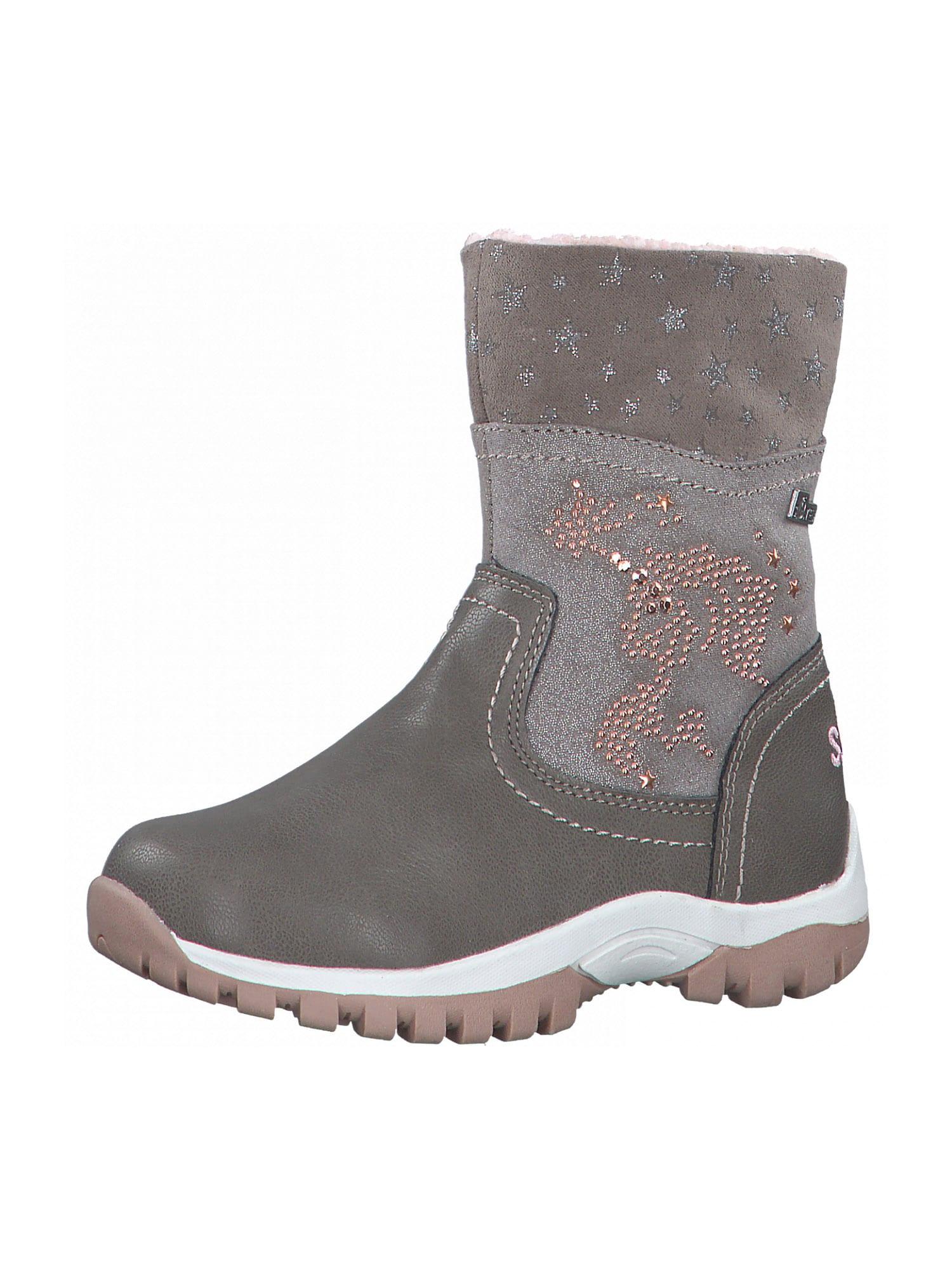 s.Oliver Junior Sniego batai rausvai pilka / akmens