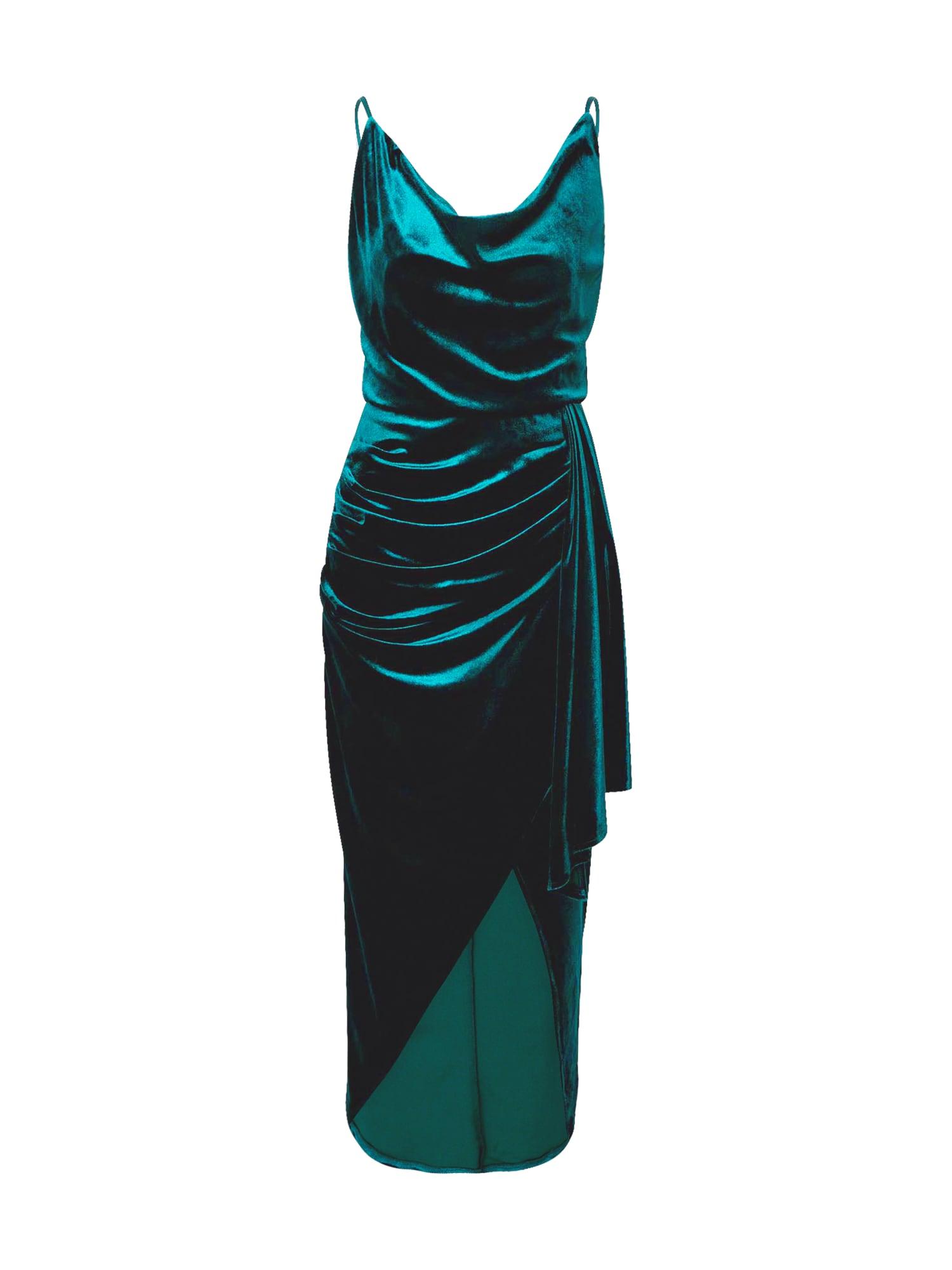TFNC Vakarinė suknelė tamsiai žalia