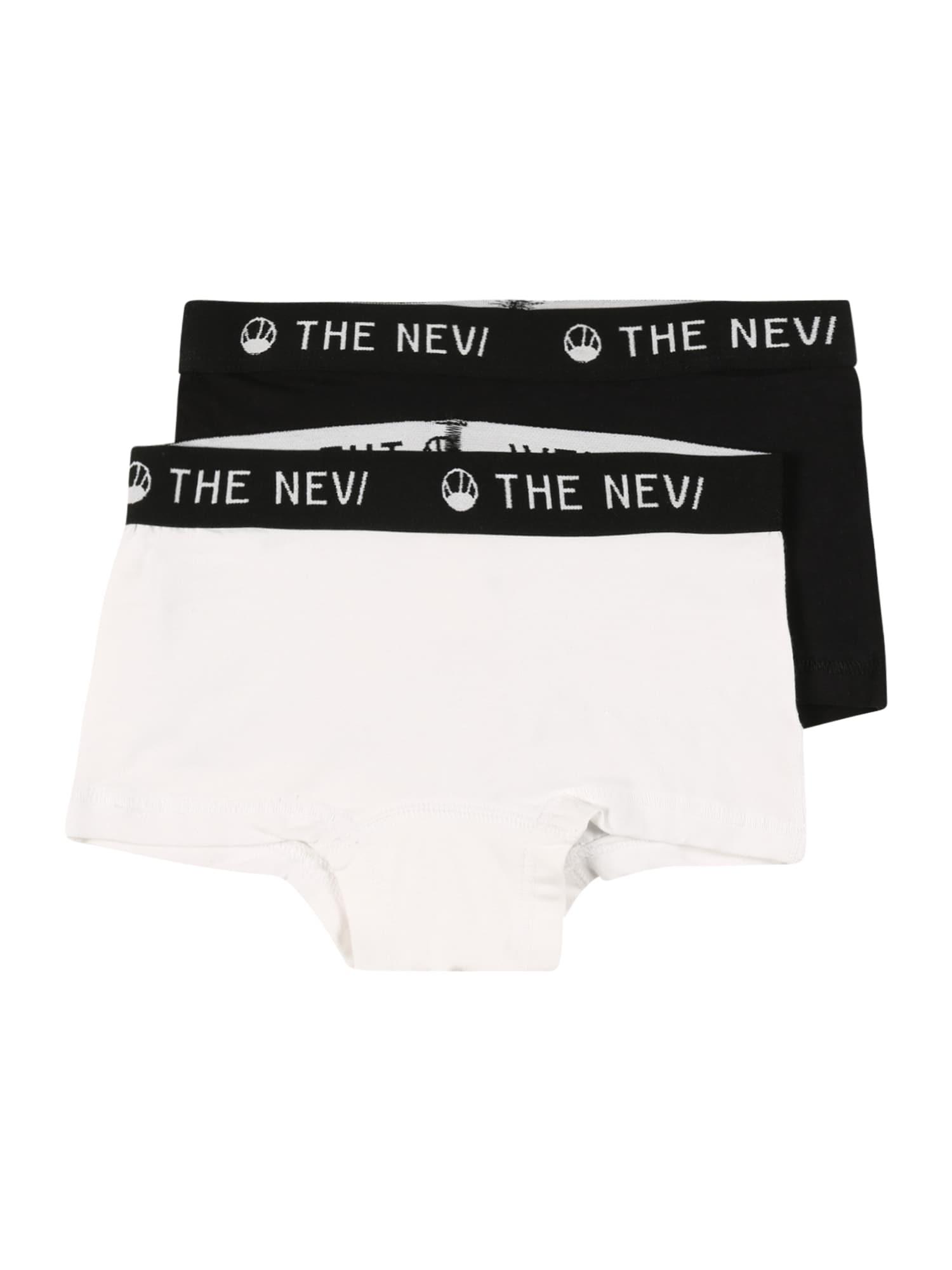 The New Apatinės kelnaitės balta / juoda