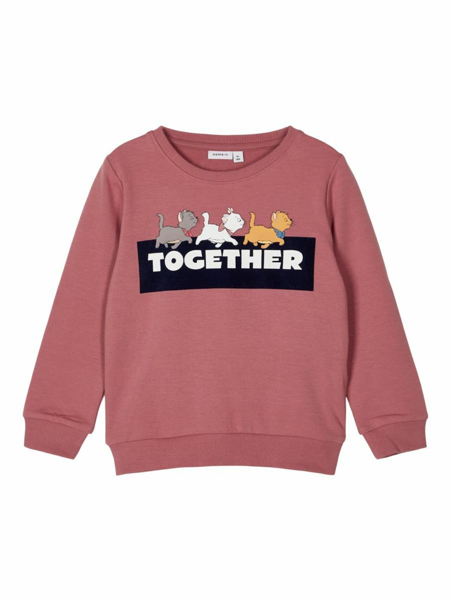 NAME IT Megztinis be užsegimo ryškiai rožinė spalva / juoda / pilka / balta / šafrano spalva