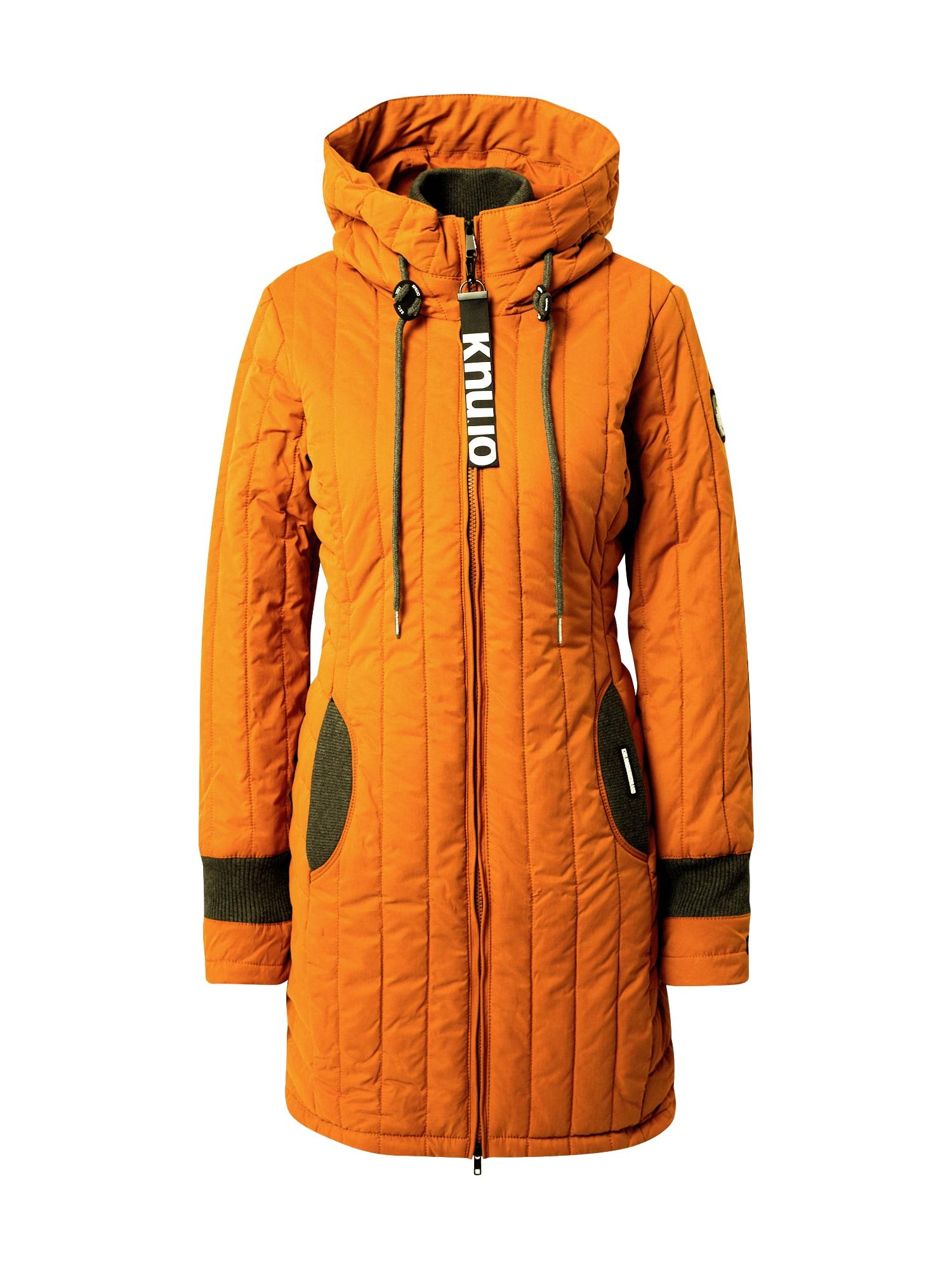 khujo Zimní kabát ' Jerry Prime4 '  oranžová / šedá