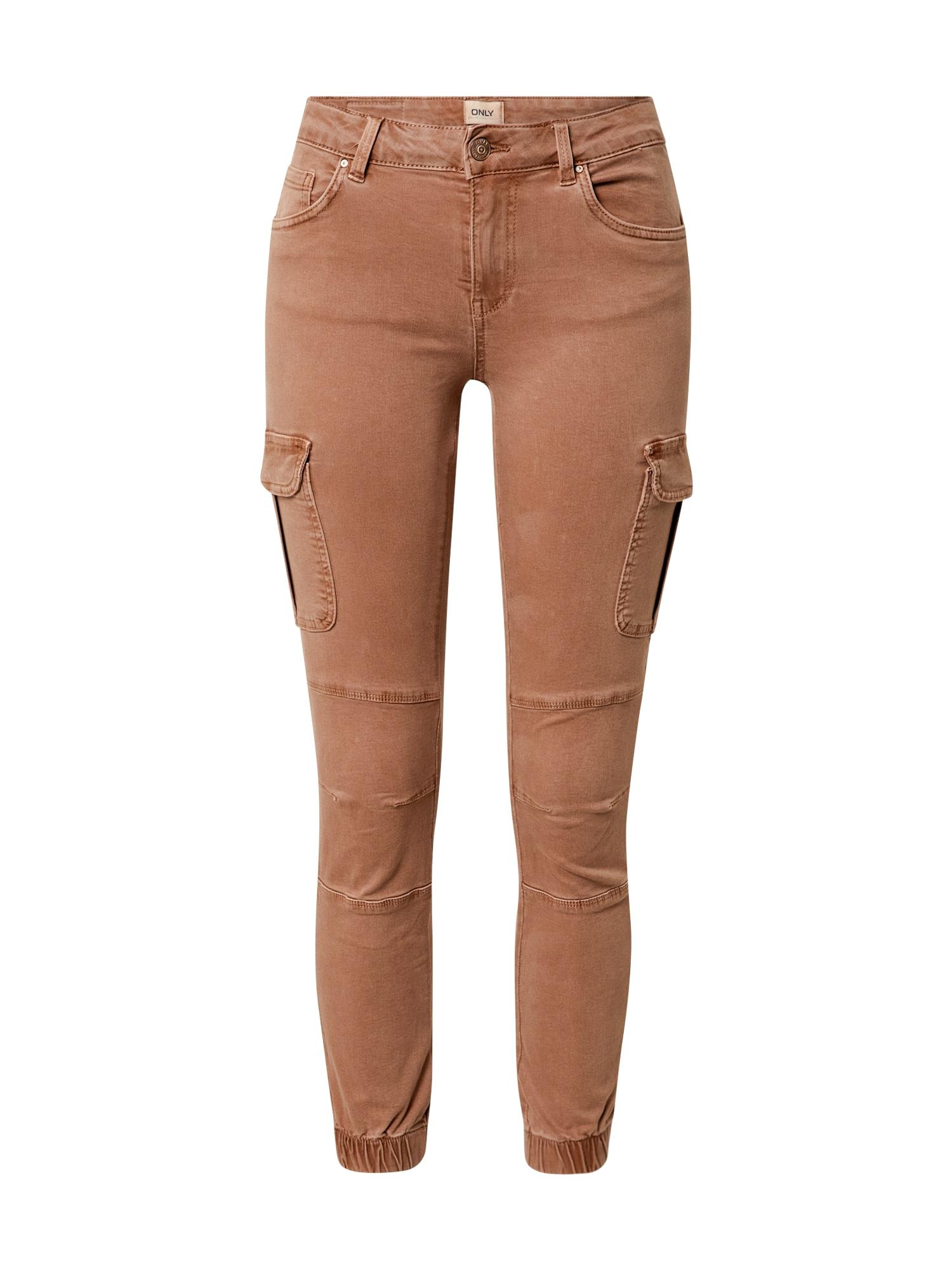 ONLY Darbinio stiliaus džinsai 'onlMISSOURI' ruda