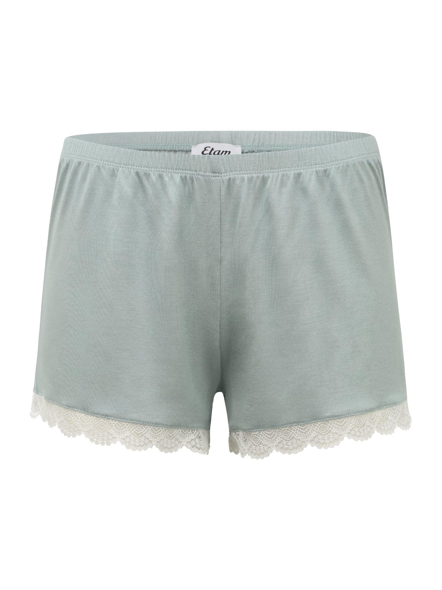 ETAM Pyžamové nohavice 'CIDDY'  pastelovo modrá / biela