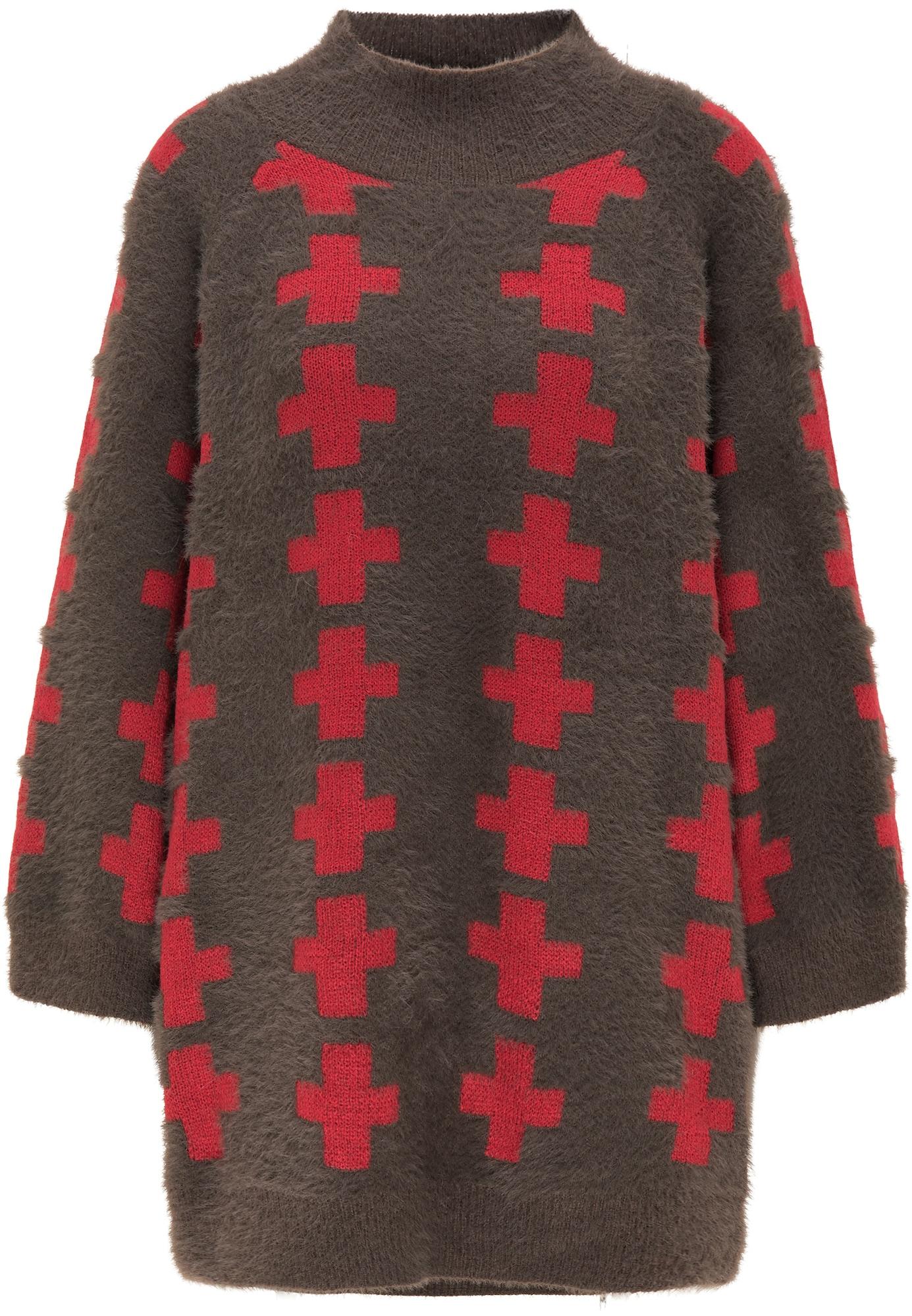 myMo ROCKS Megztinis ruda / raudona