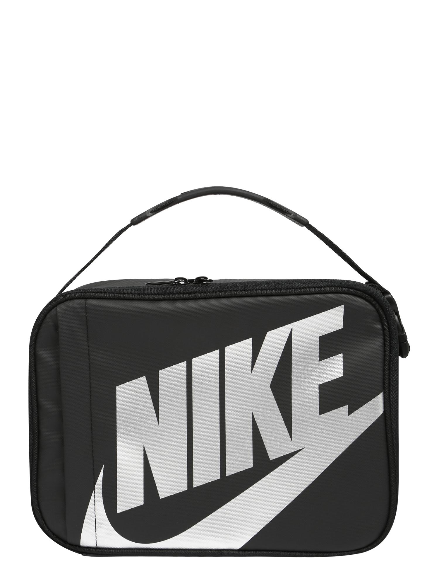 Nike Sportswear Taška  černá / bílá