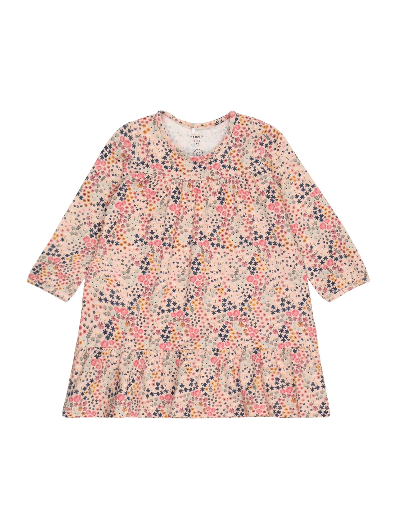 NAME IT Suknelė 'BEATA' rožių spalva / mišrios spalvos
