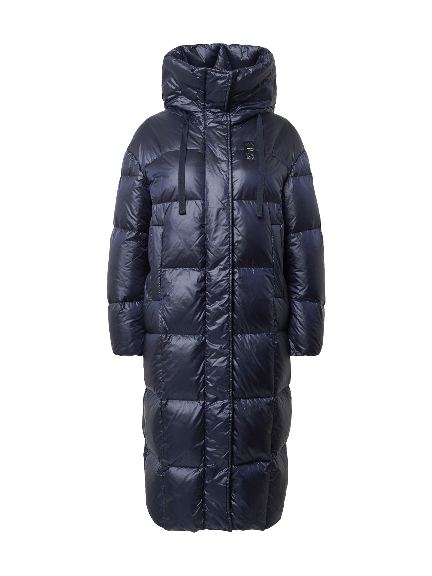Blauer.USA Rudeninis-žieminis paltas tamsiai mėlyna