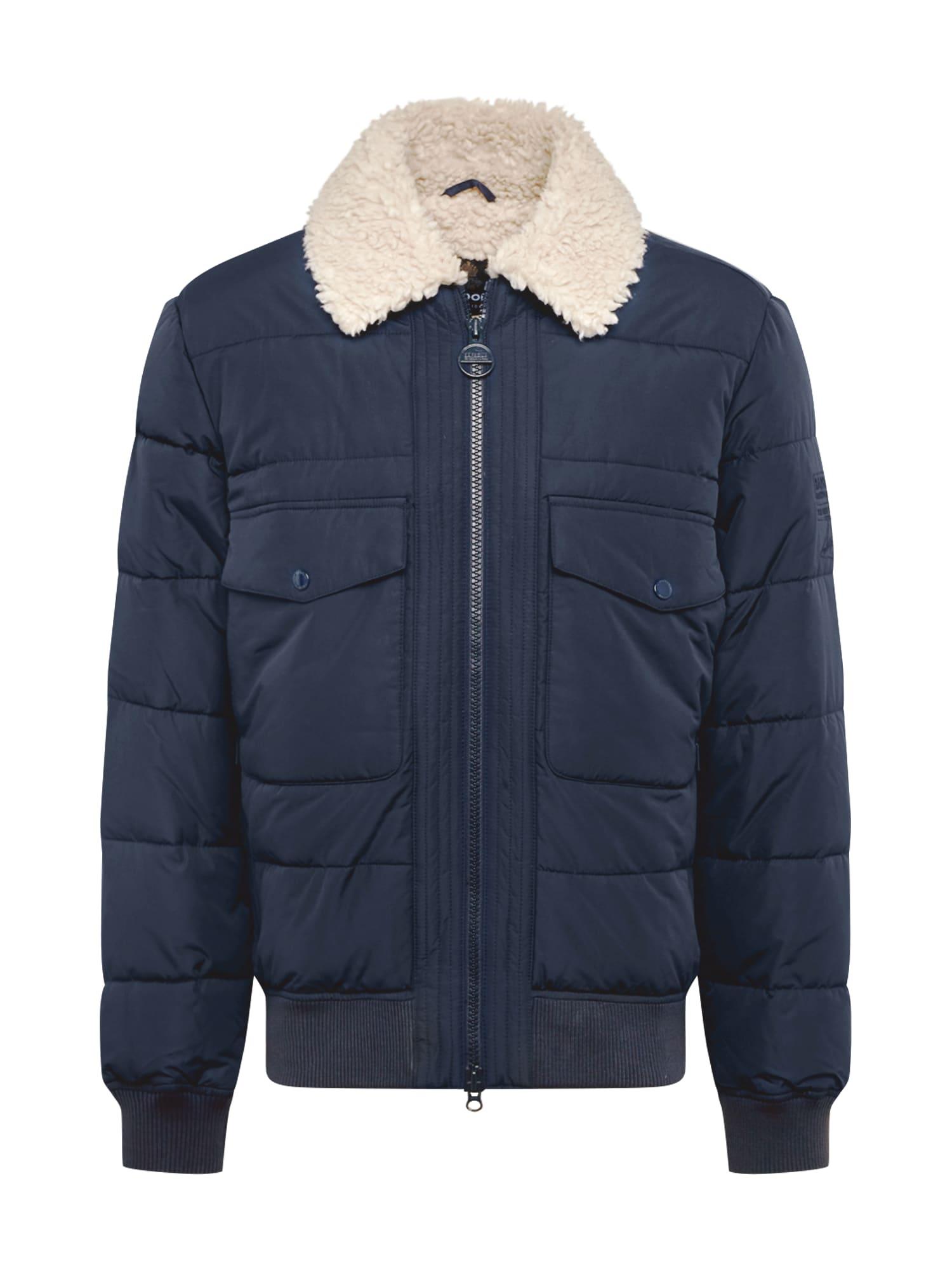 Barbour International Zimní bunda  námořnická modř