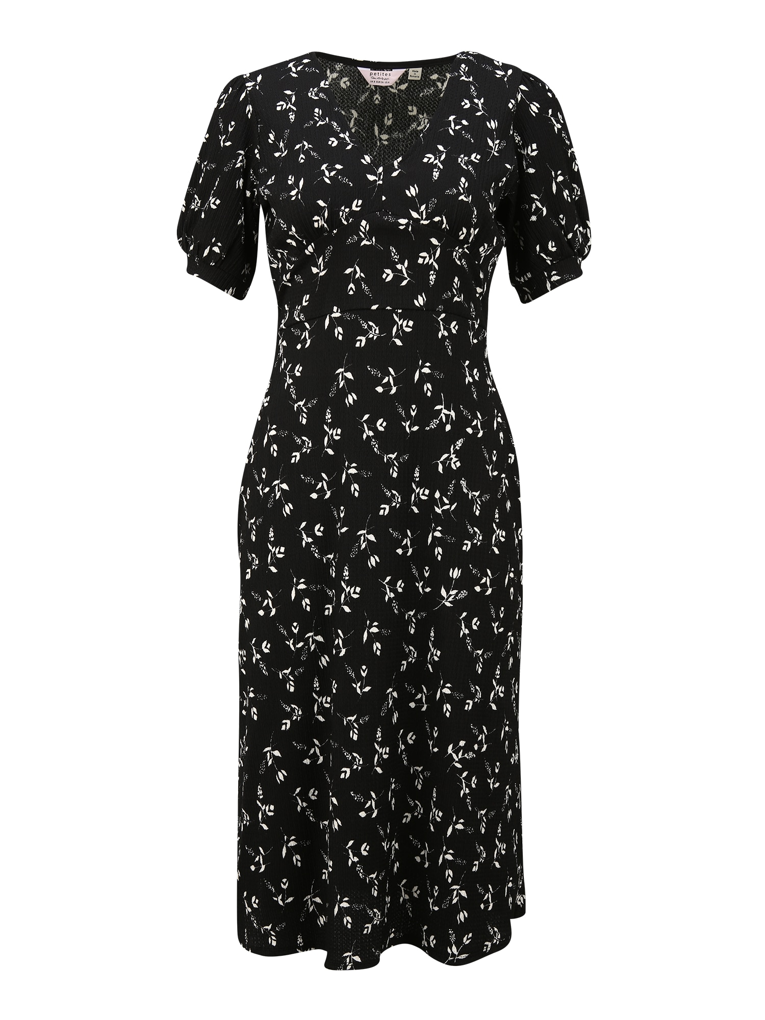 Miss Selfridge Suknelė juoda / balta
