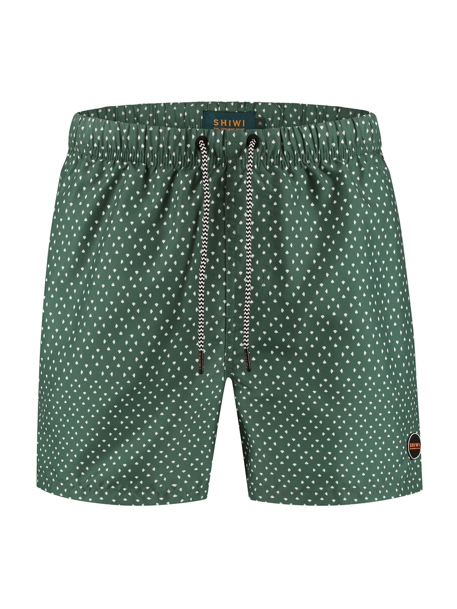 Shiwi Plavecké šortky  světle zelená / bílá