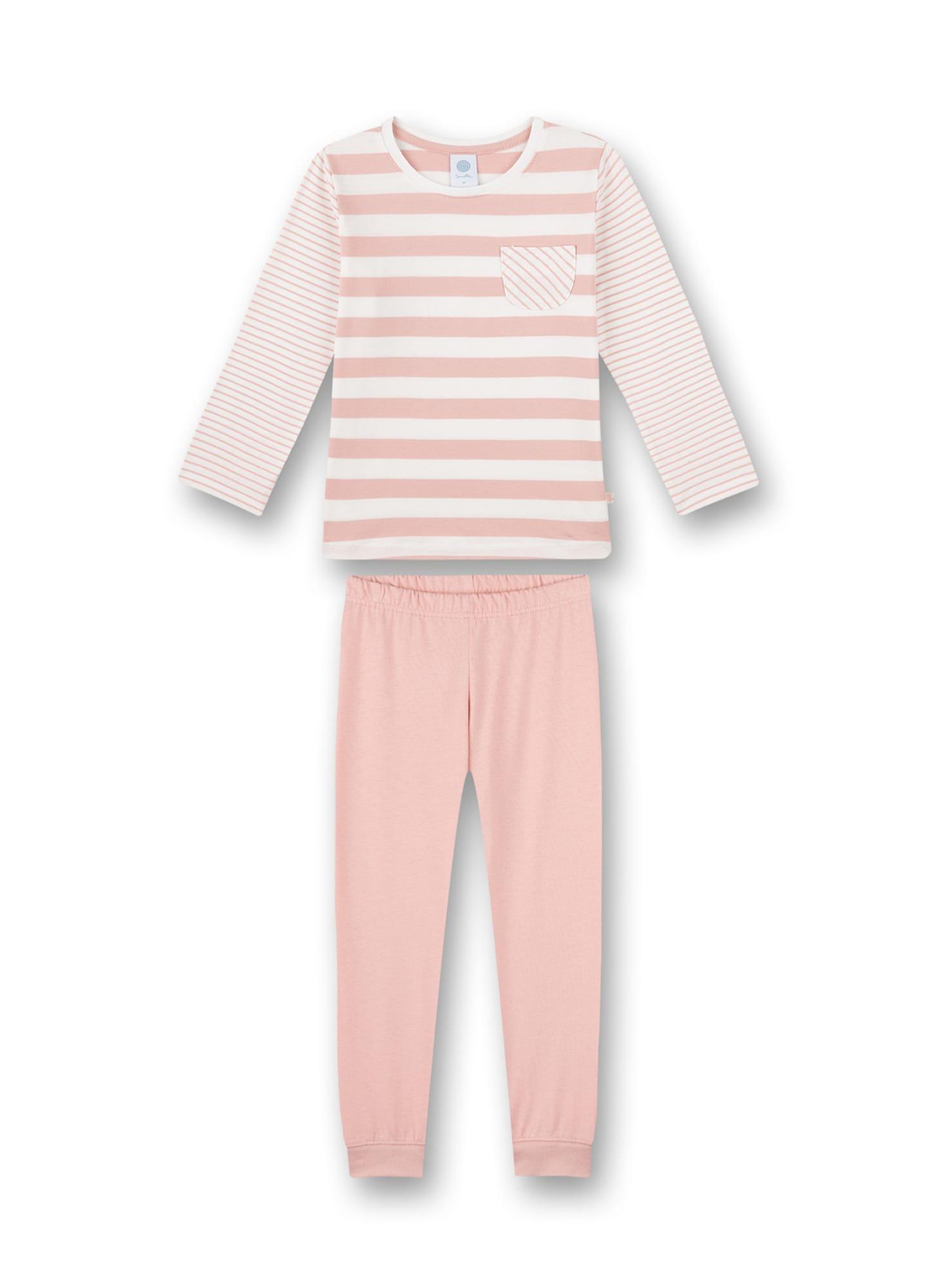 SANETTA Miego kostiumas balta / pastelinė rožinė