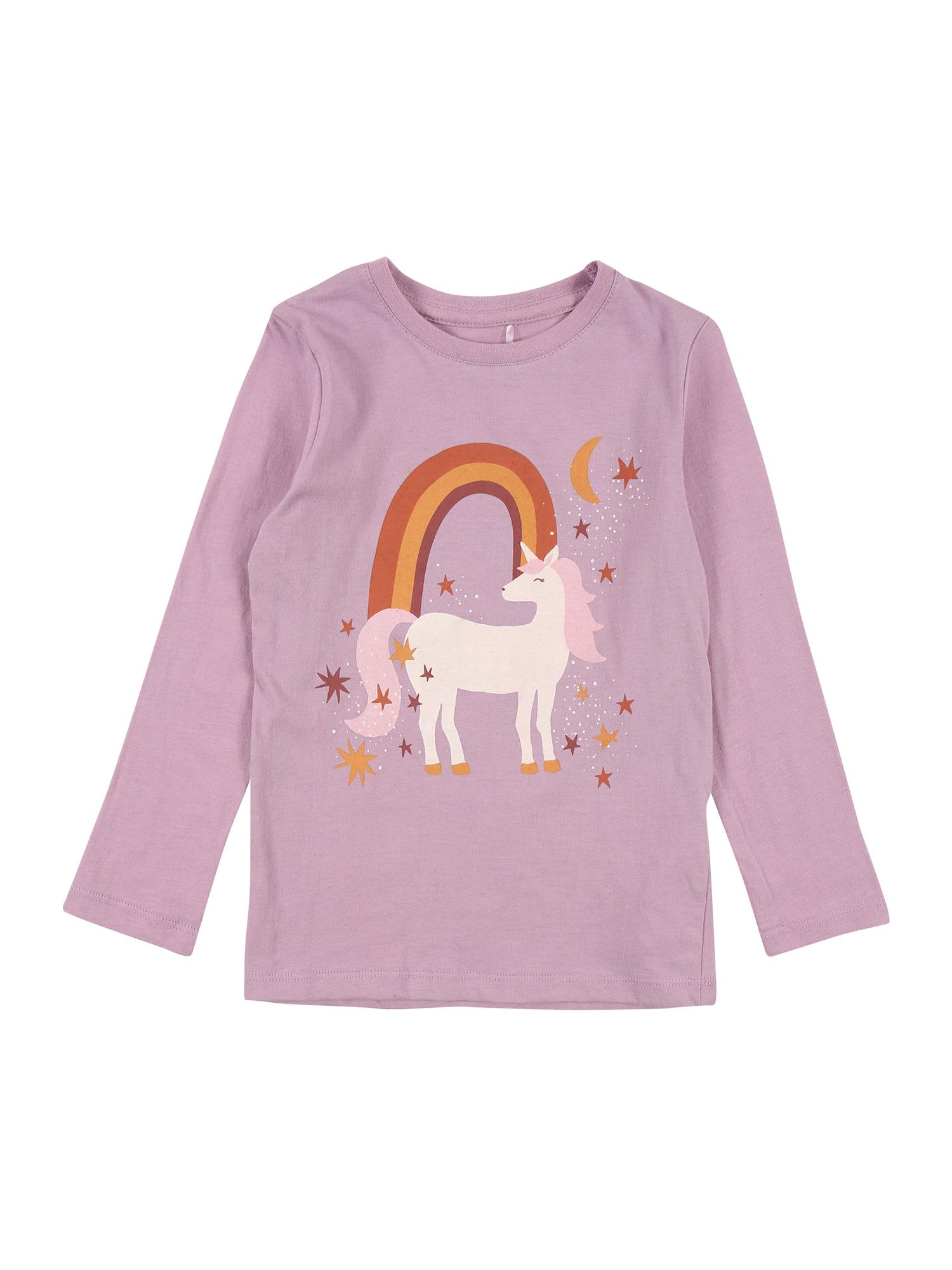 Cotton On Marškinėliai 'Penelope' rausvai violetinė spalva / mišrios spalvos