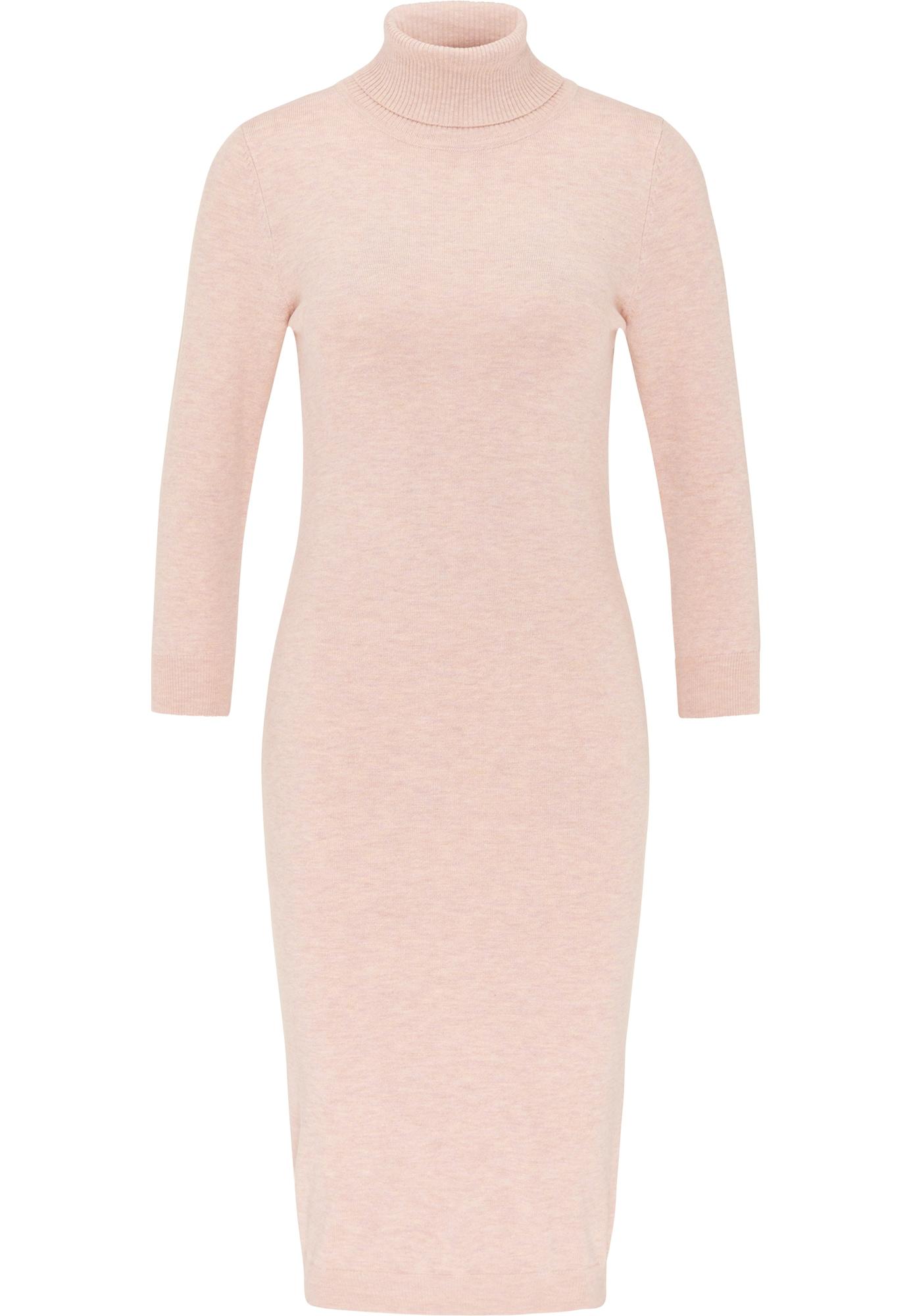usha BLACK LABEL Megzta suknelė pastelinė rožinė