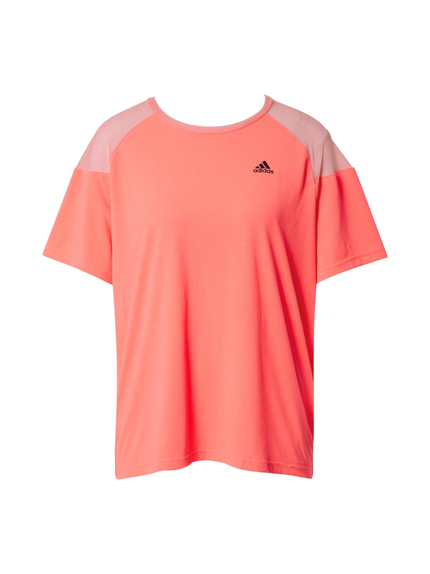 ADIDAS PERFORMANCE Sportiniai marškinėliai lašišų spalva