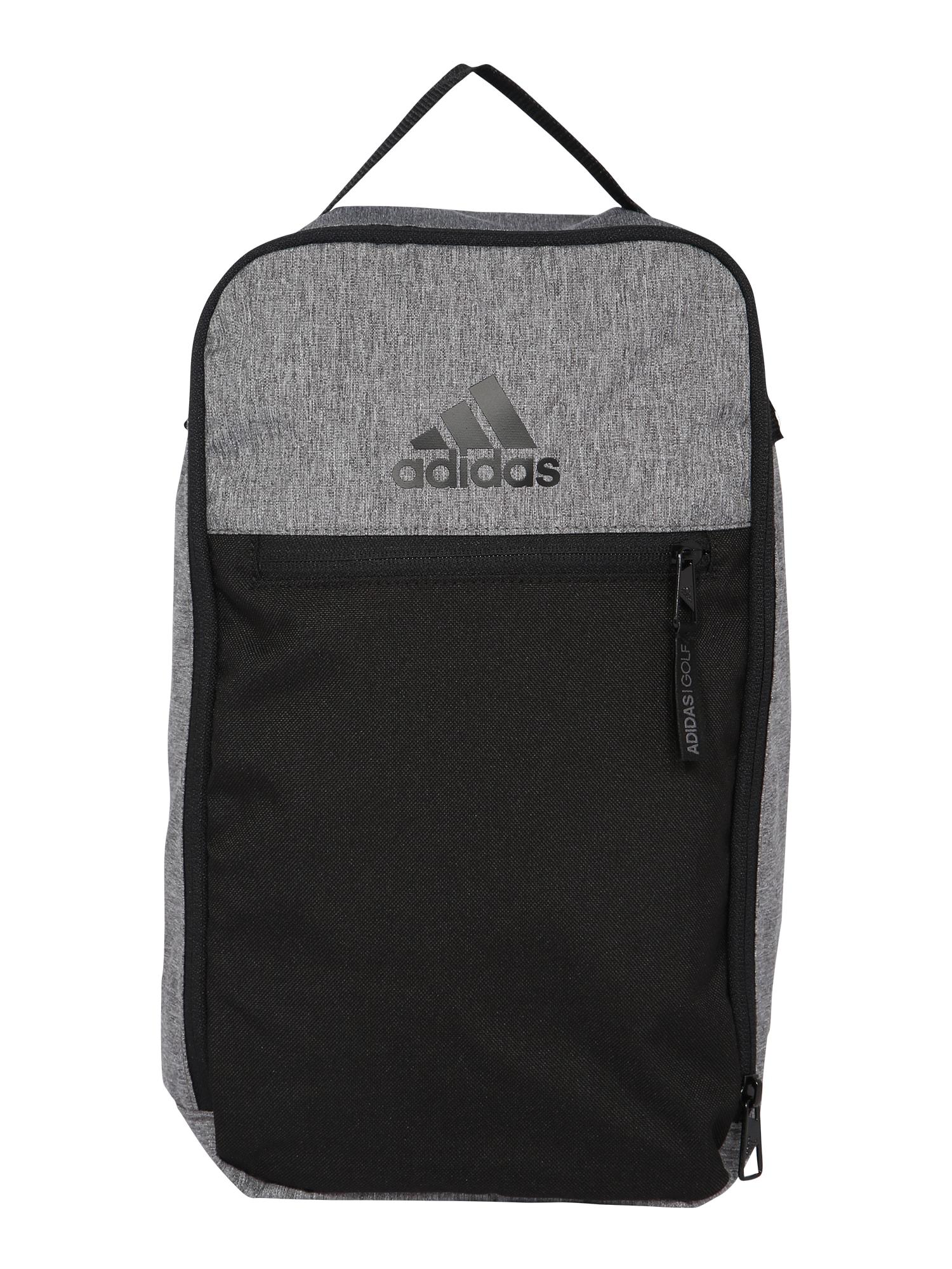 adidas Golf Sportinis krepšys pilka / juoda