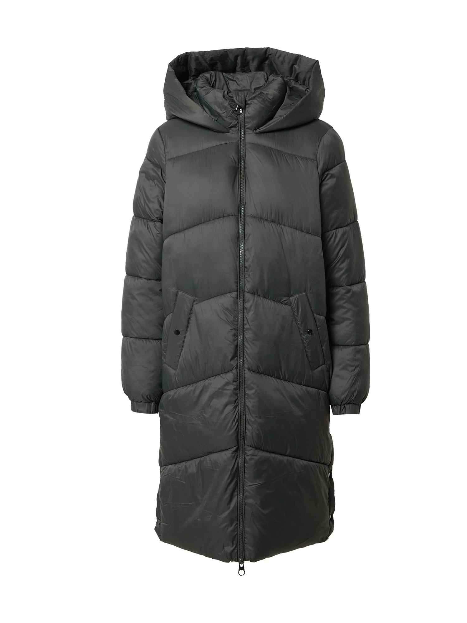 VERO MODA Zimní kabát 'Upsala'  tmavě zelená