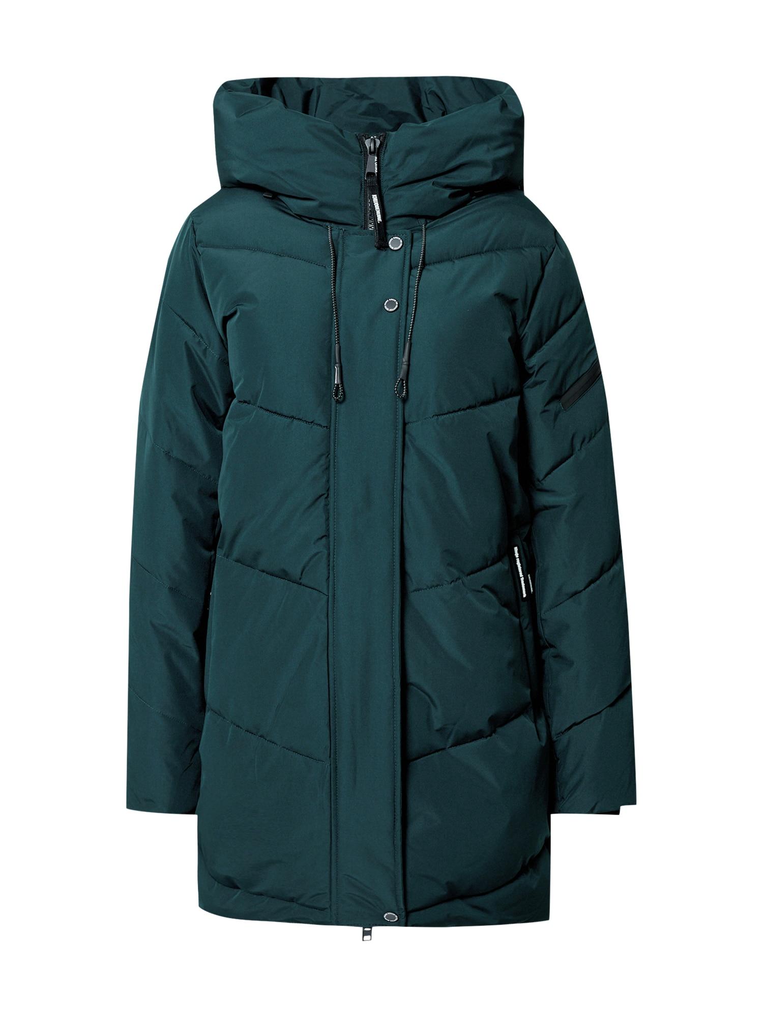 khujo Zimní kabát  zelená