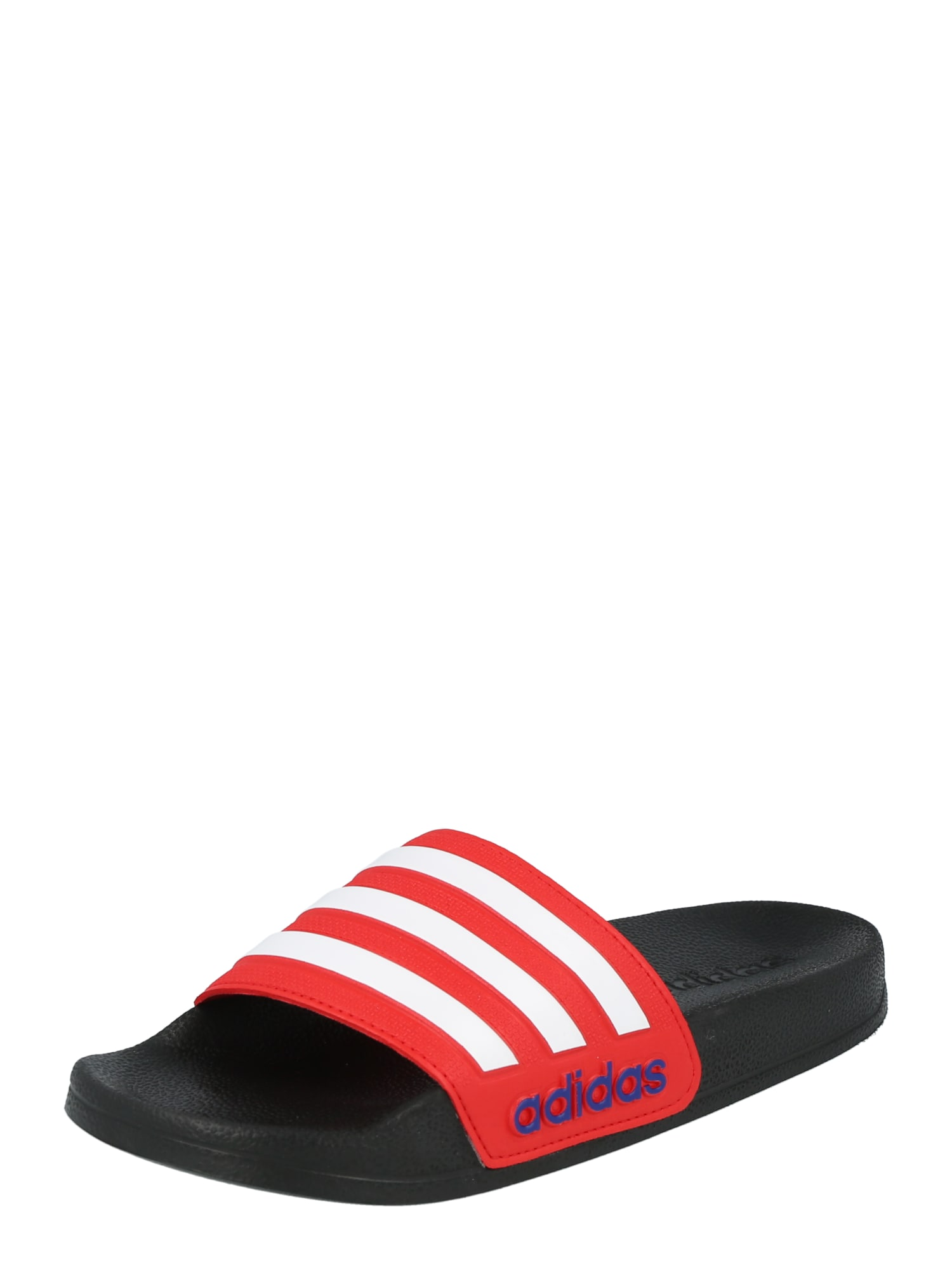 ADIDAS PERFORMANCE Sandalai / maudymosi batai juoda / raudona / balta