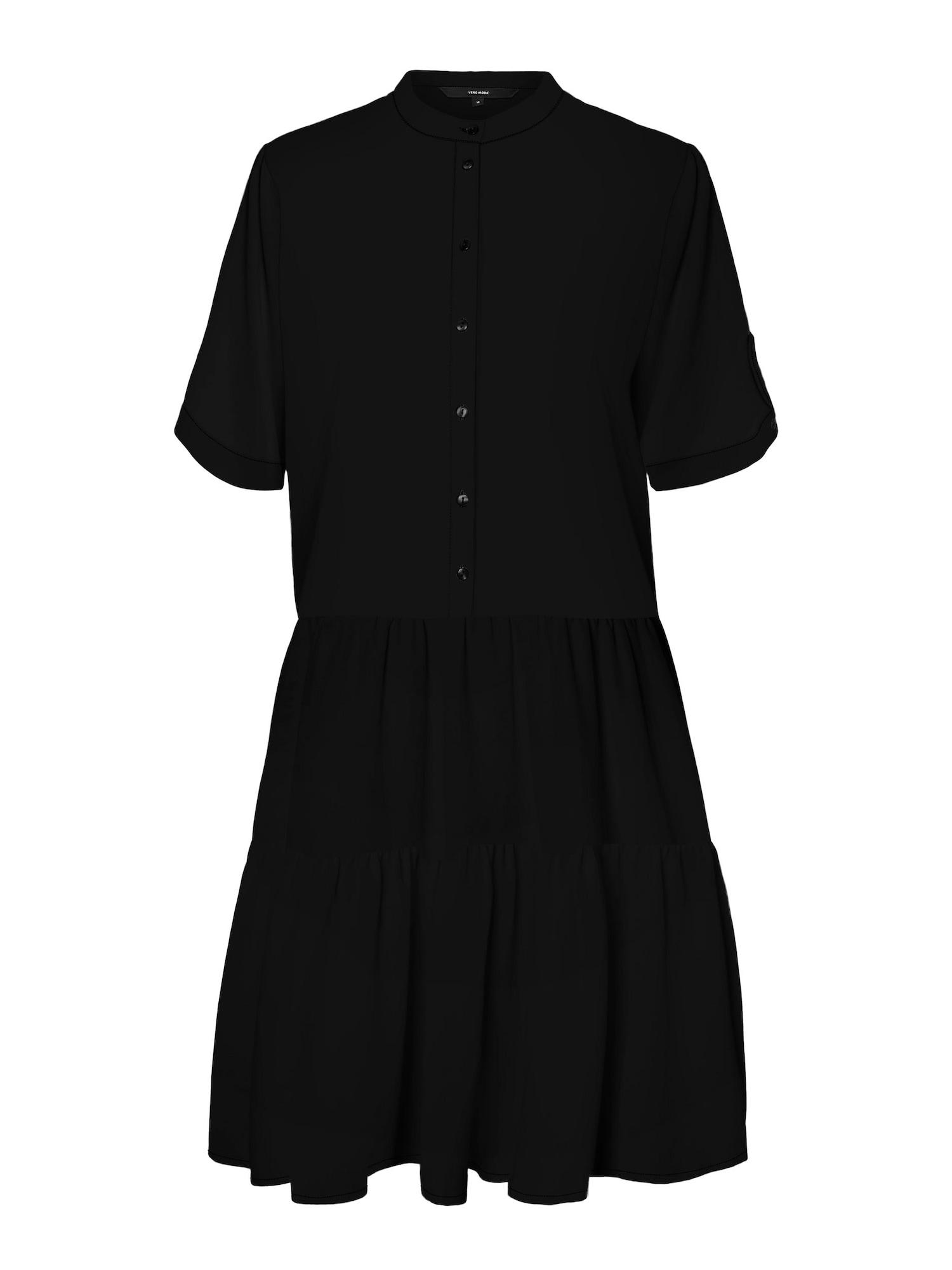 Vero Moda Petite Palaidinės tipo suknelė juoda