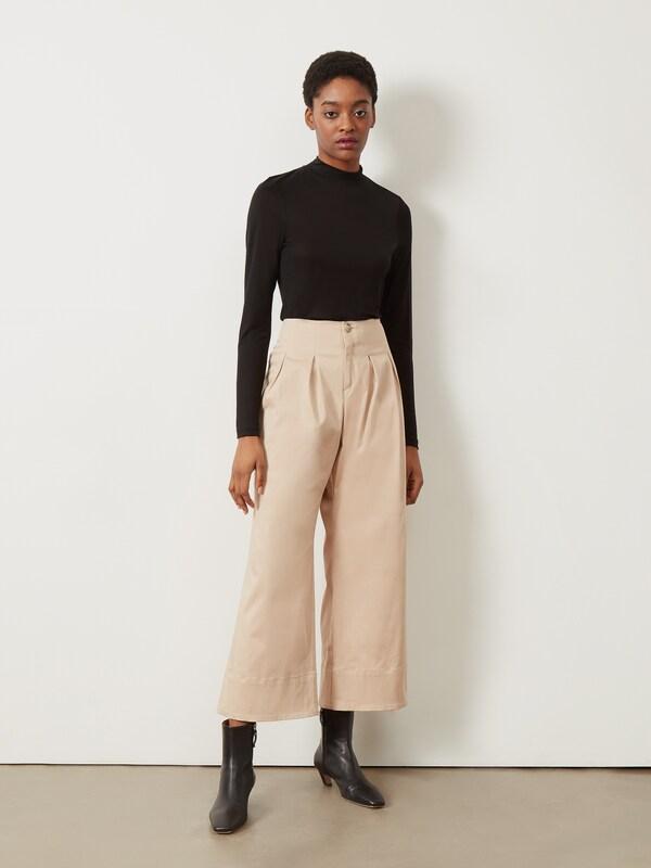 COURTNEY Wide Leg Hose mit Pfeil-Muster