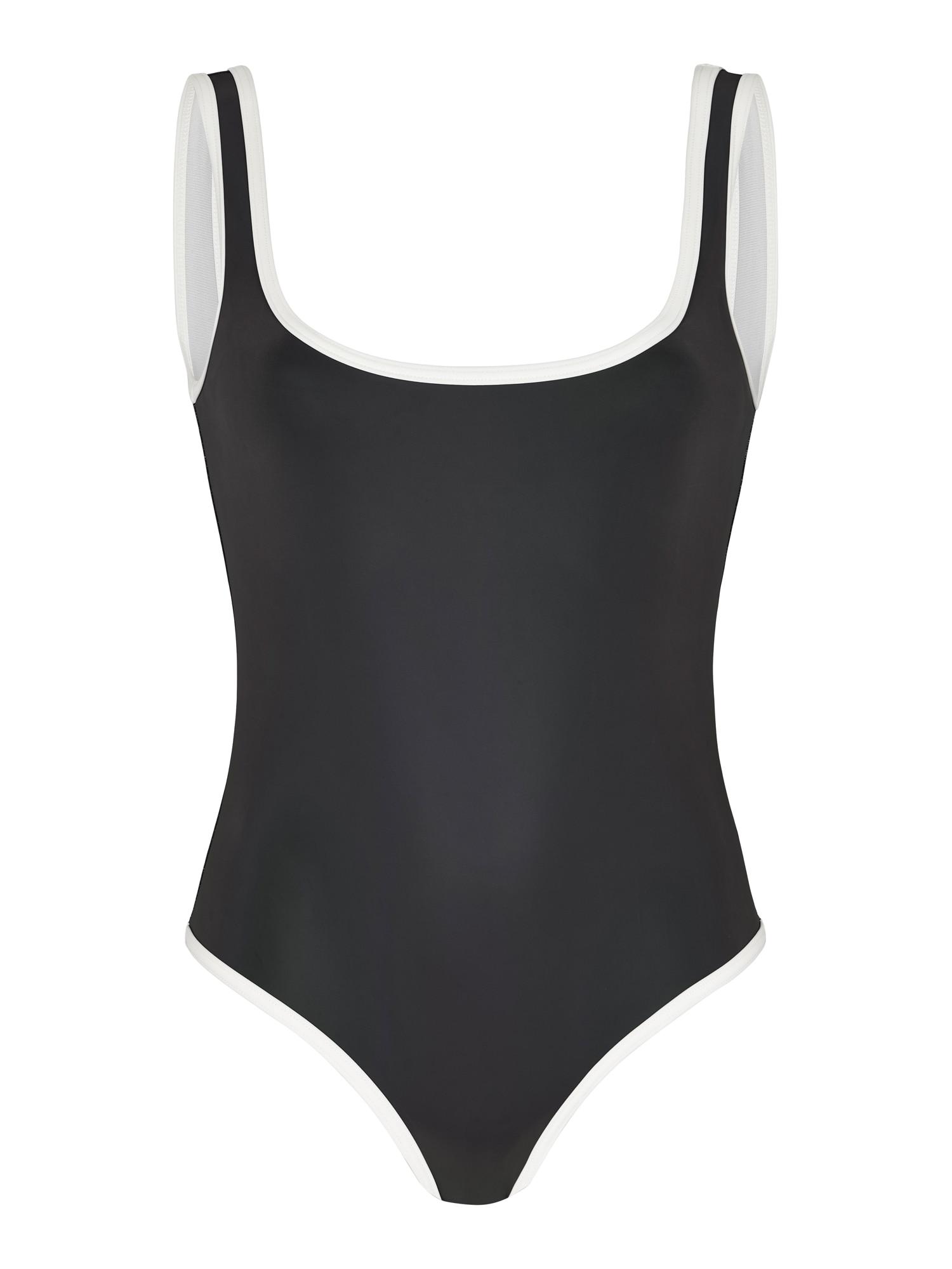 OW Intimates Maudymosi kostiumėlis juoda / balta