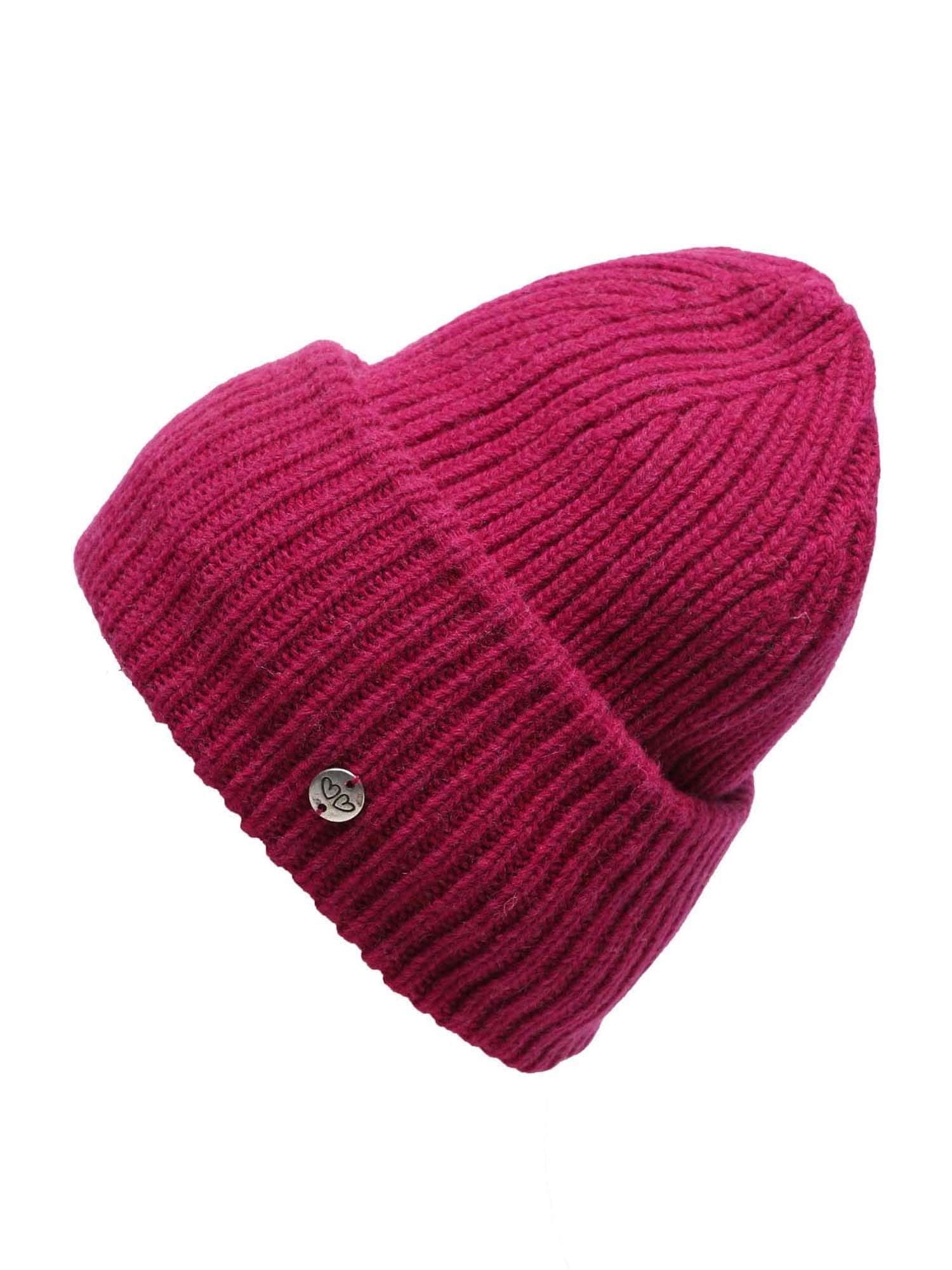 Zwillingsherz Megzta kepurė raudona