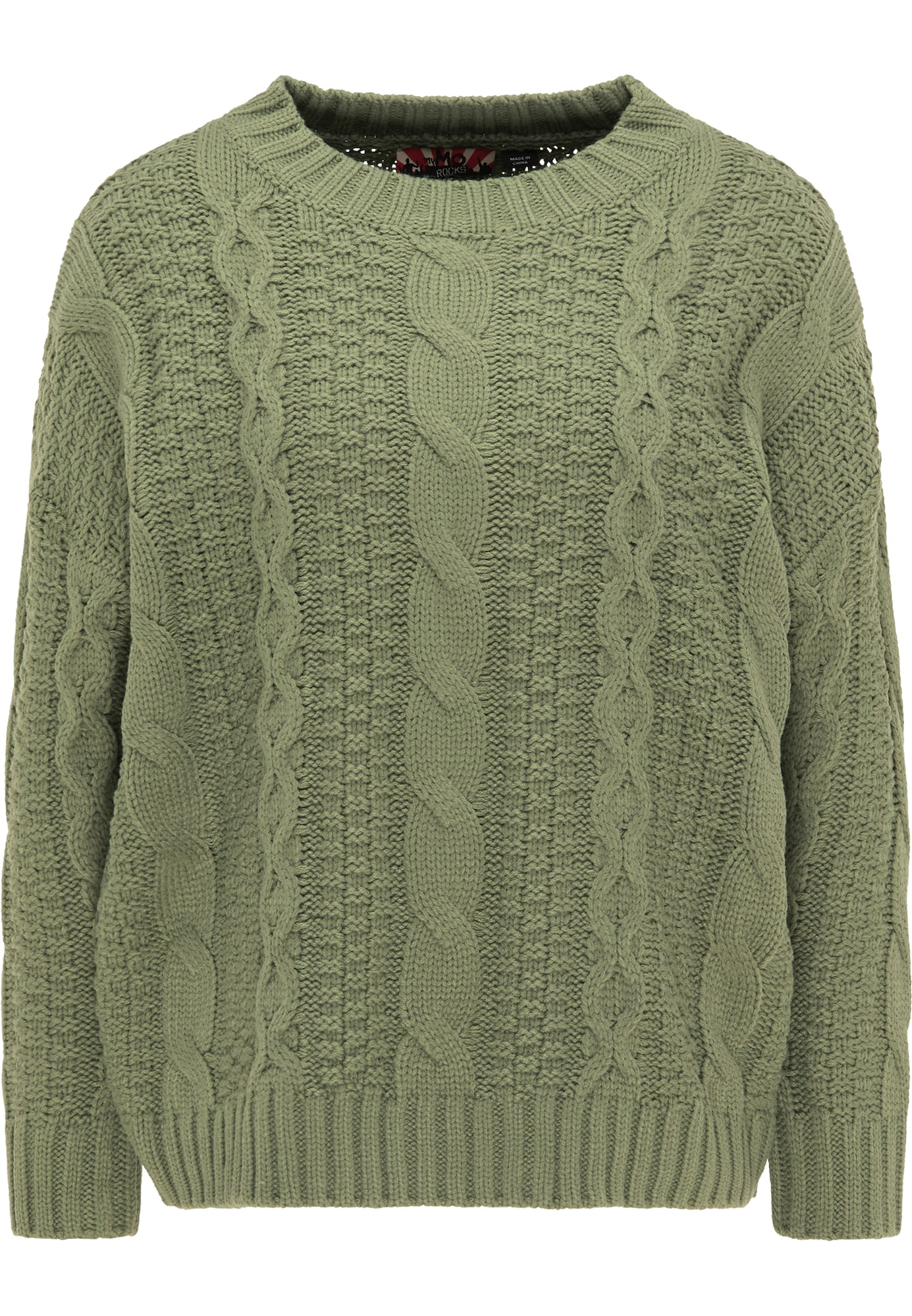 myMo ROCKS Laisvas megztinis žalia