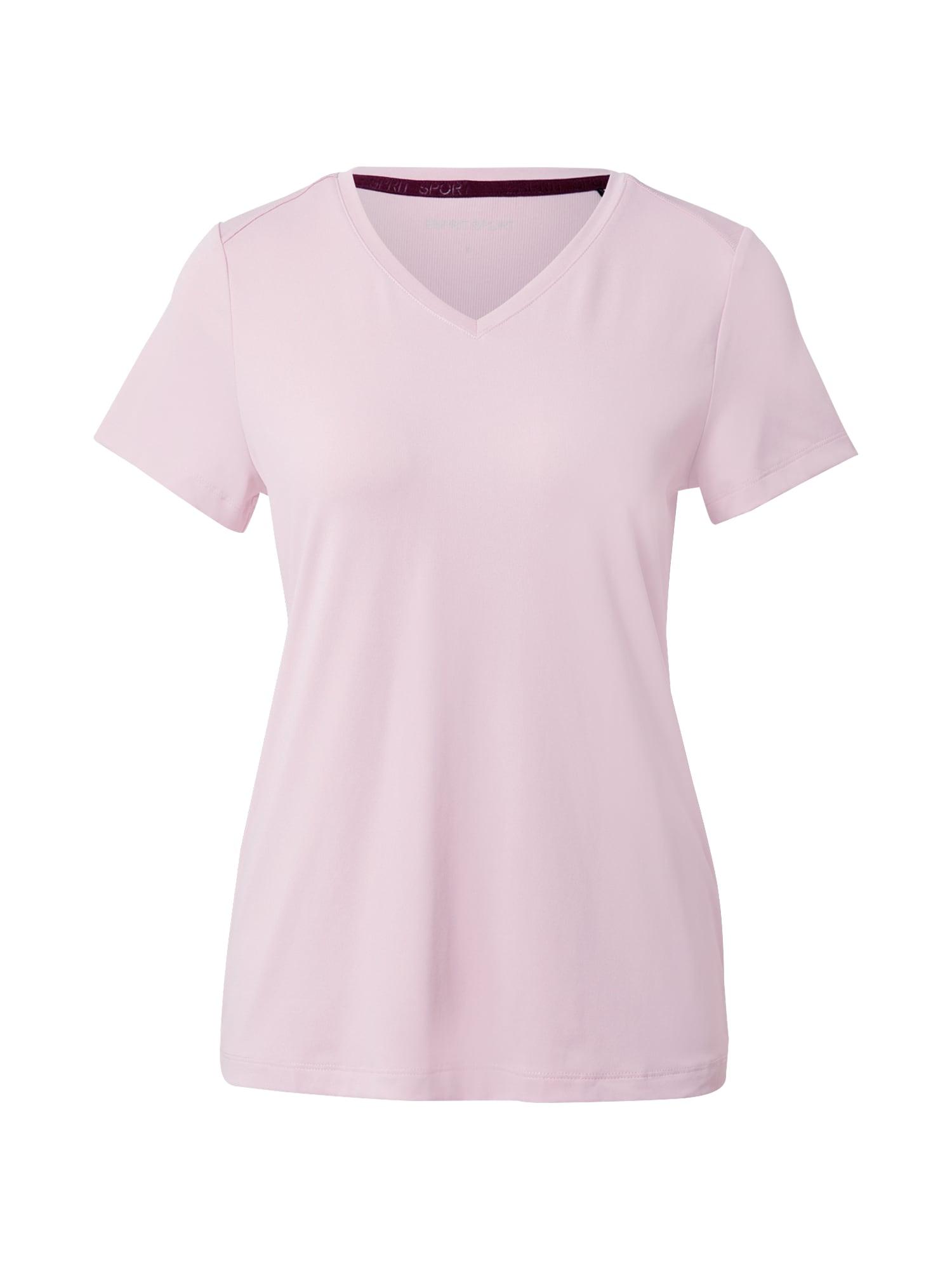 ESPRIT SPORT Sportiniai marškinėliai šviesiai rožinė