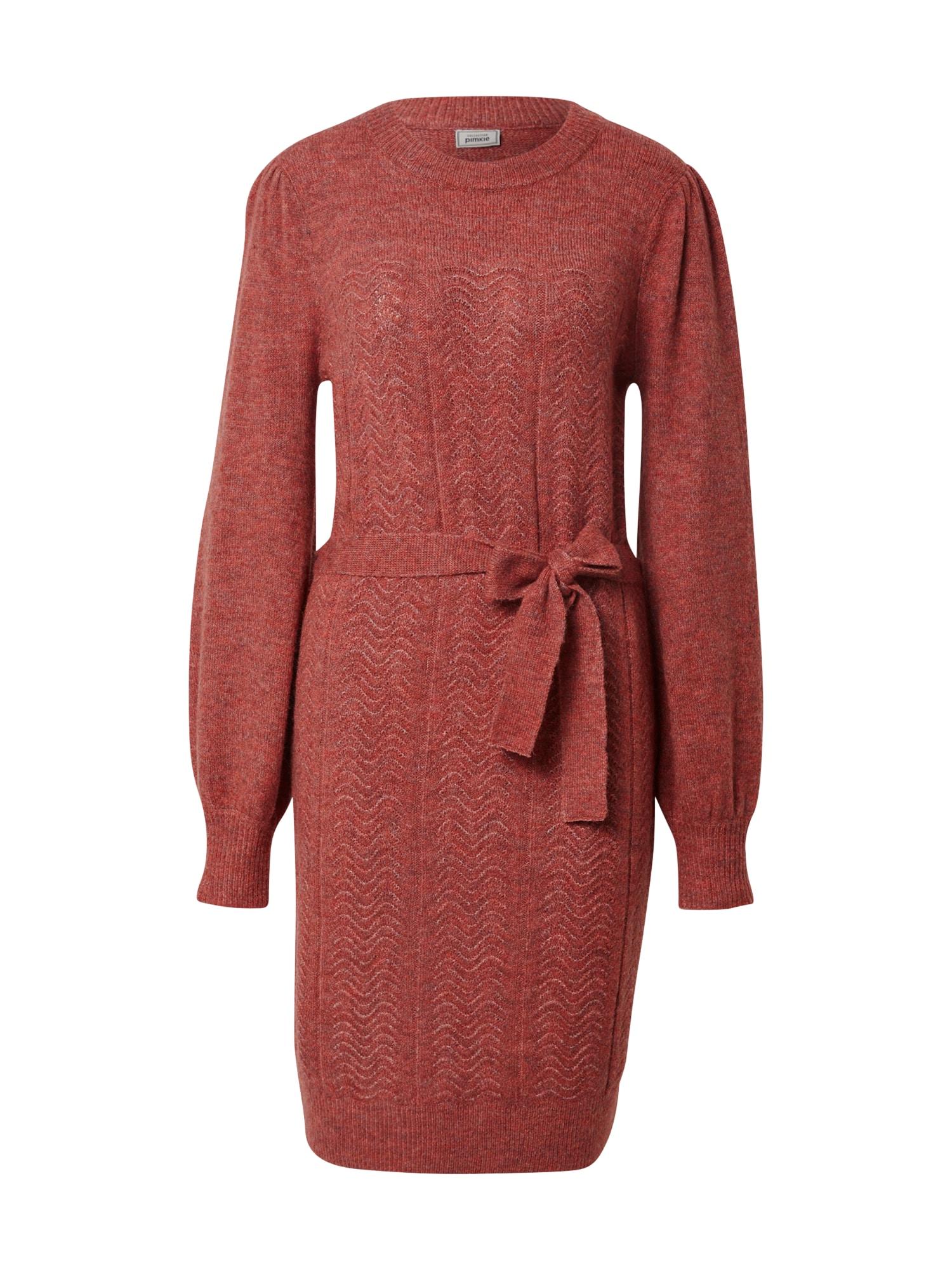 Pimkie Megzta suknelė pitajų spalva
