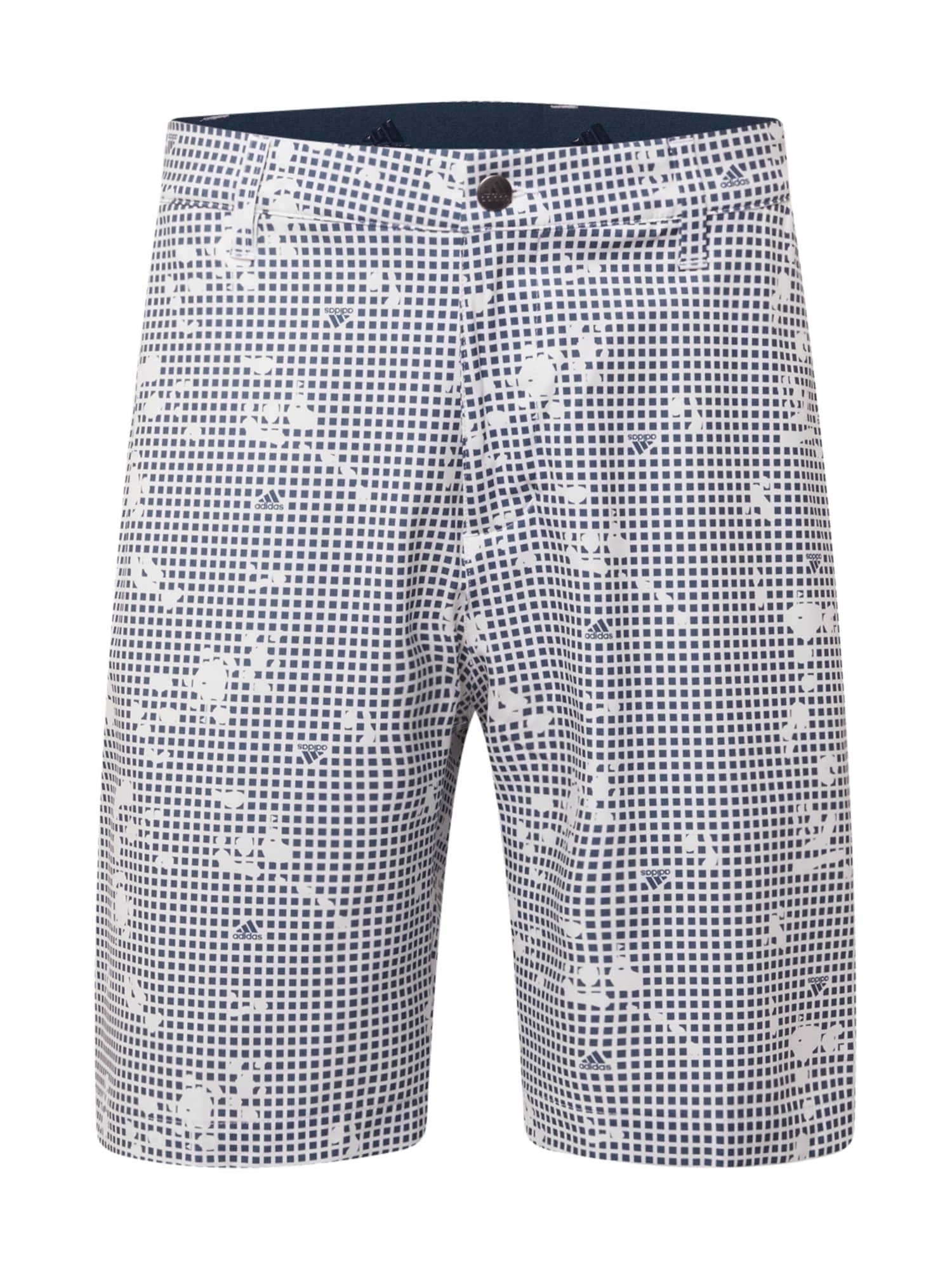 adidas Golf Sportinės kelnės balta / mėlyna