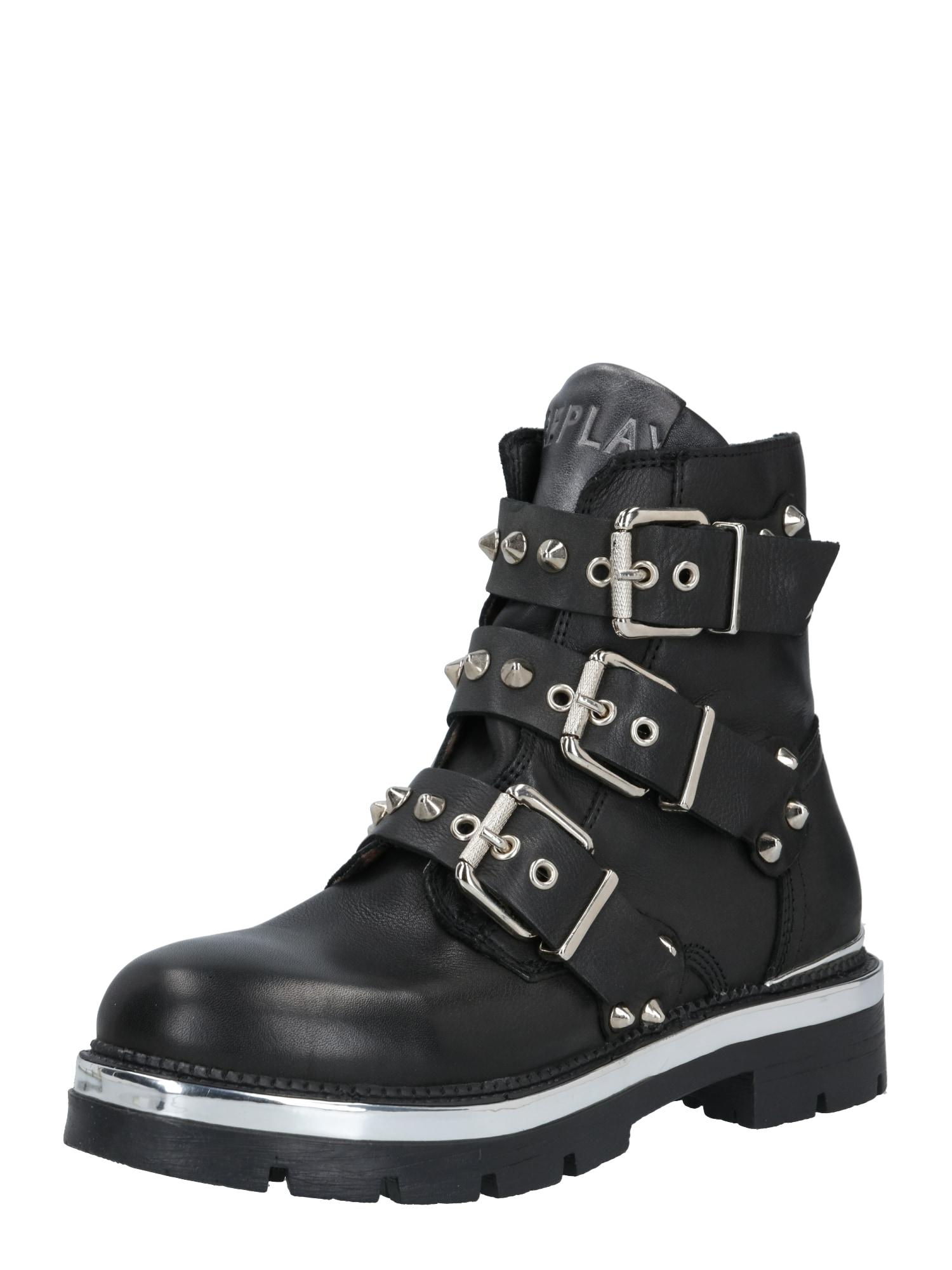REPLAY Auliniai batai juoda