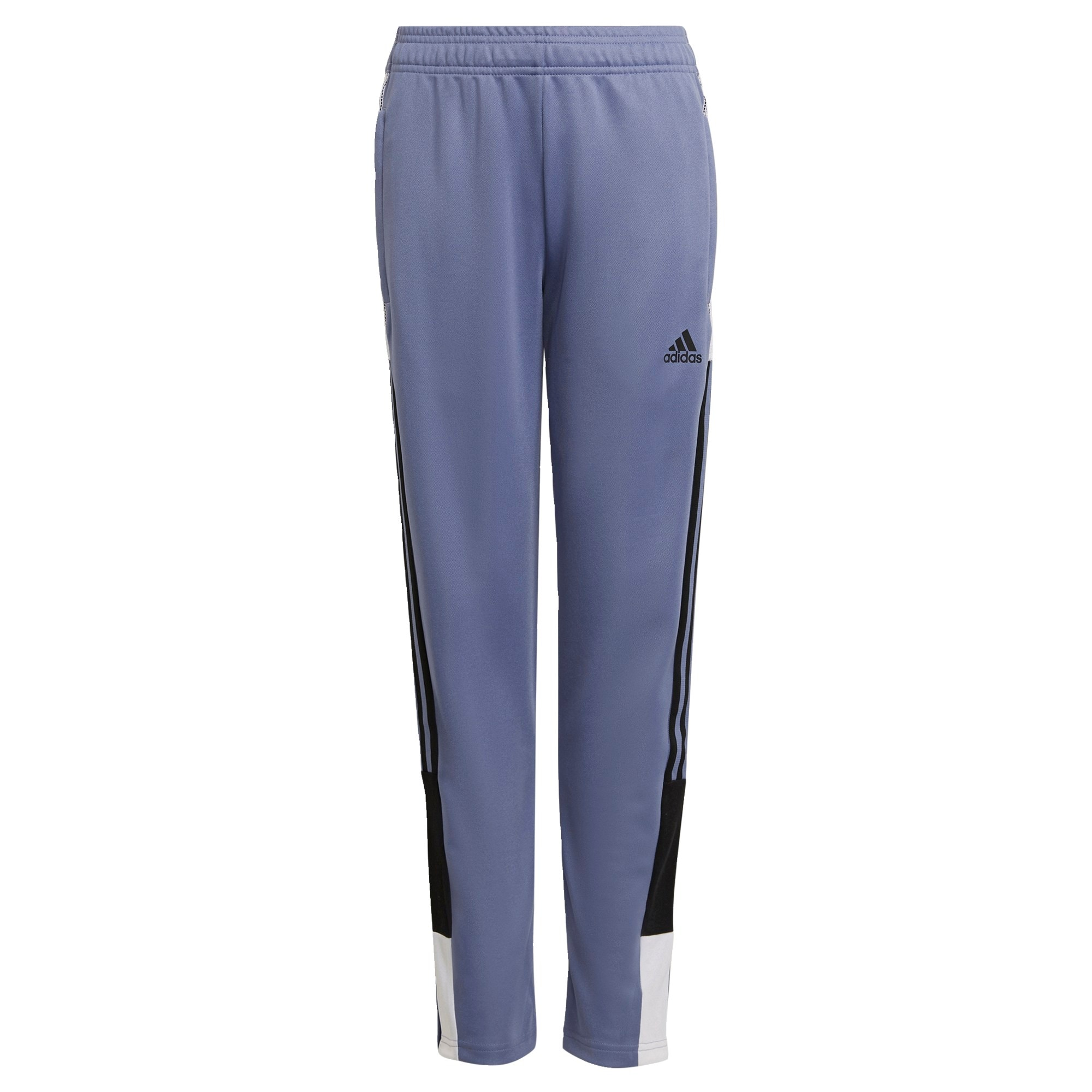 ADIDAS PERFORMANCE Sportinės kelnės 'Tiro' purpurinė / juoda / balta