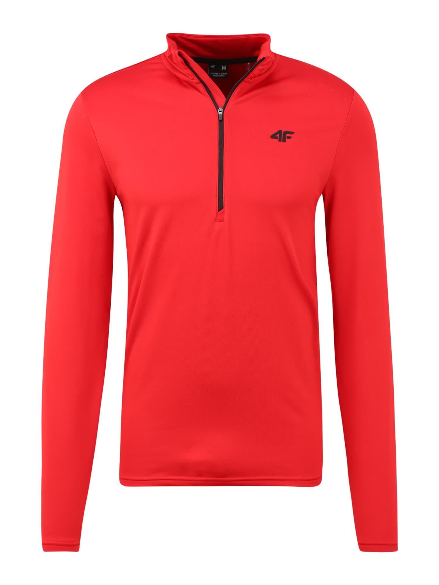 4F Sportiniai apatiniai marškinėliai raudona