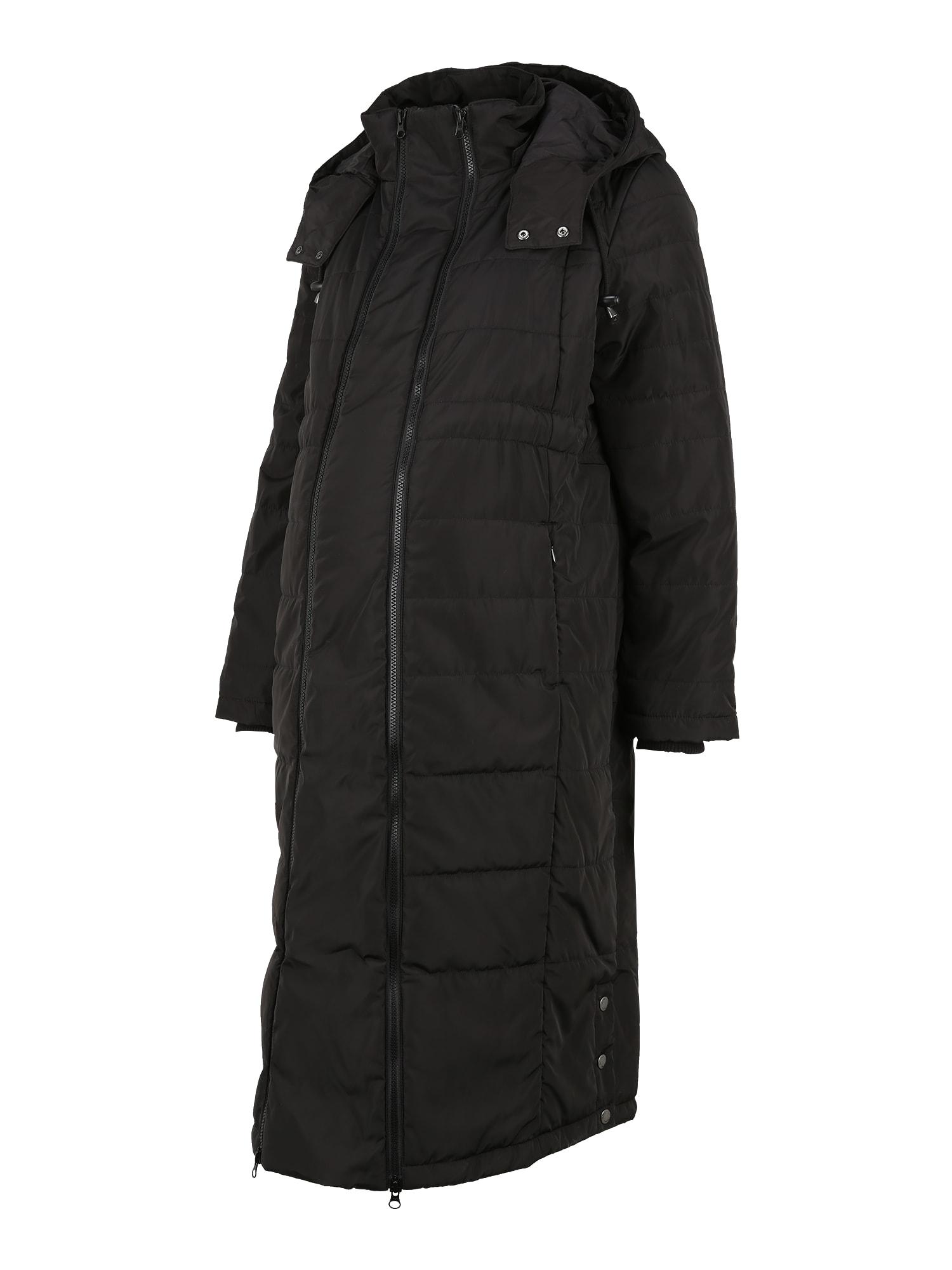 JoJo Maman Bébé Demisezoninis paltas juoda