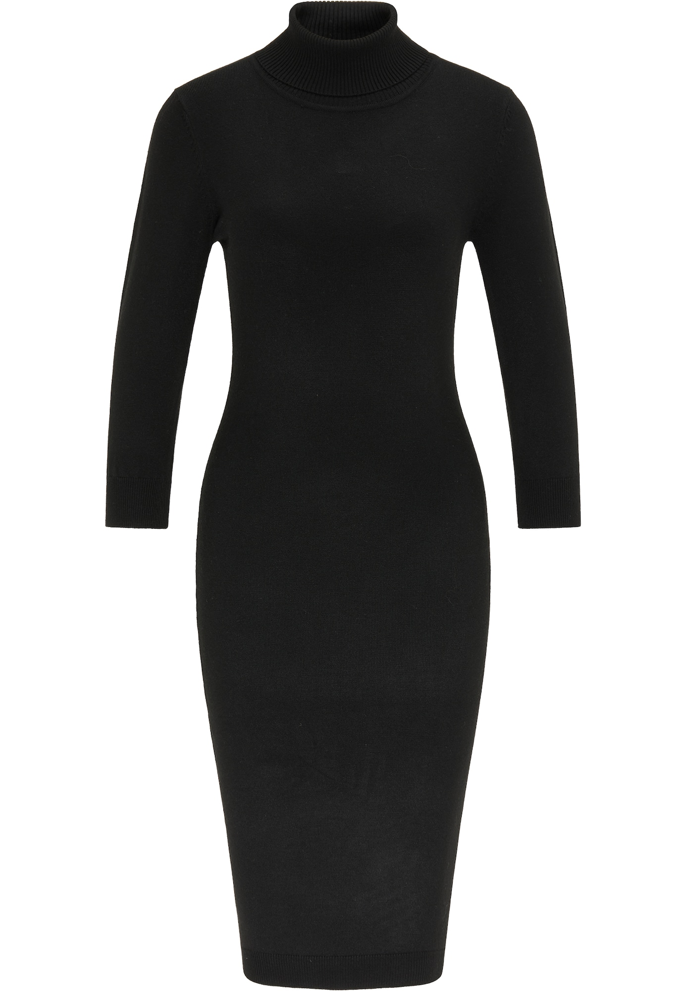 usha BLACK LABEL Megzta suknelė juoda