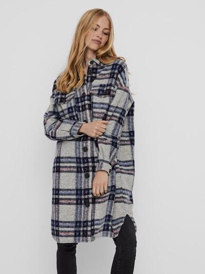 Vero Moda Chrissie Lange Karo-Hemdjacke