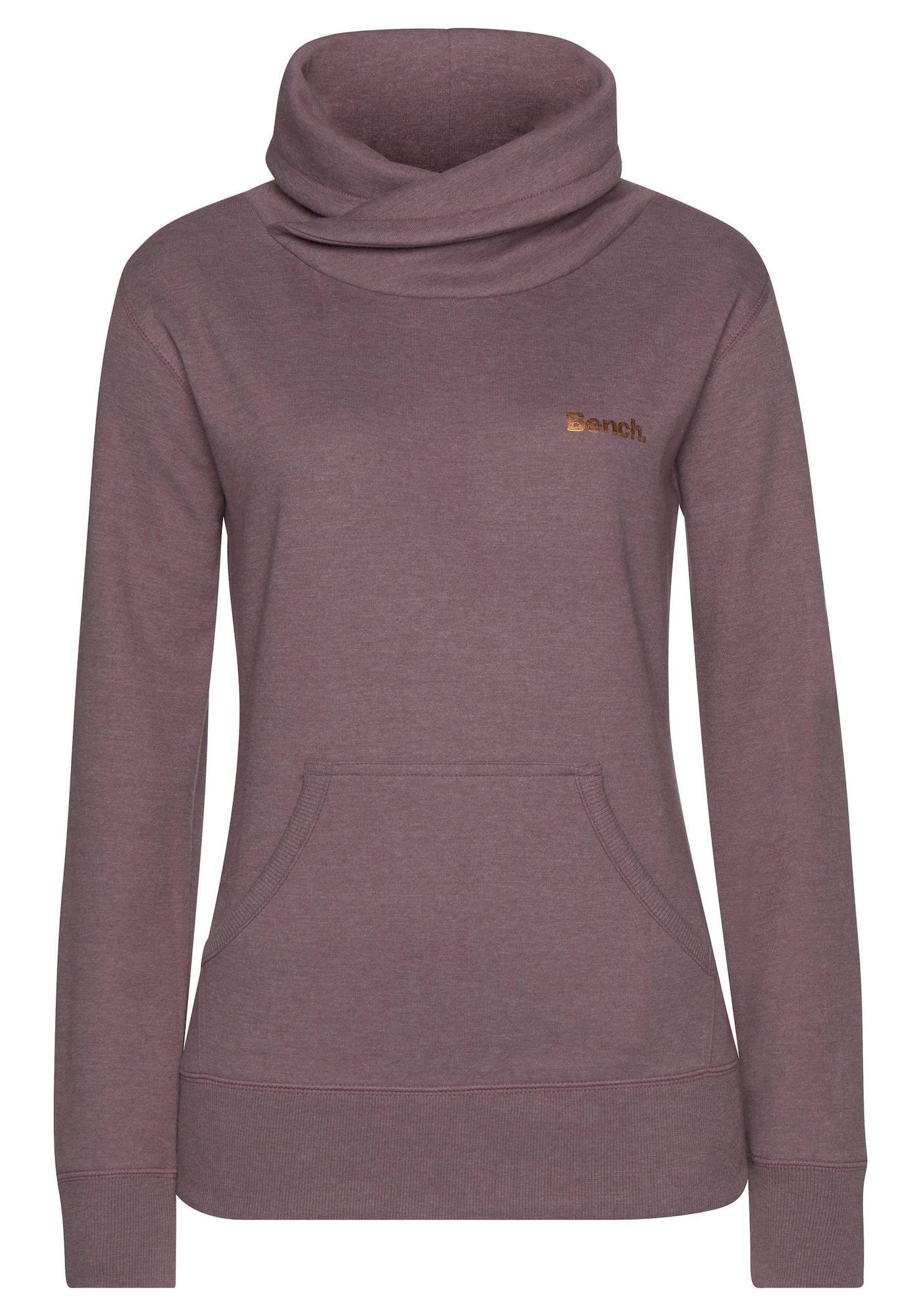 BENCH Megztinis be užsegimo rausvai violetinė spalva