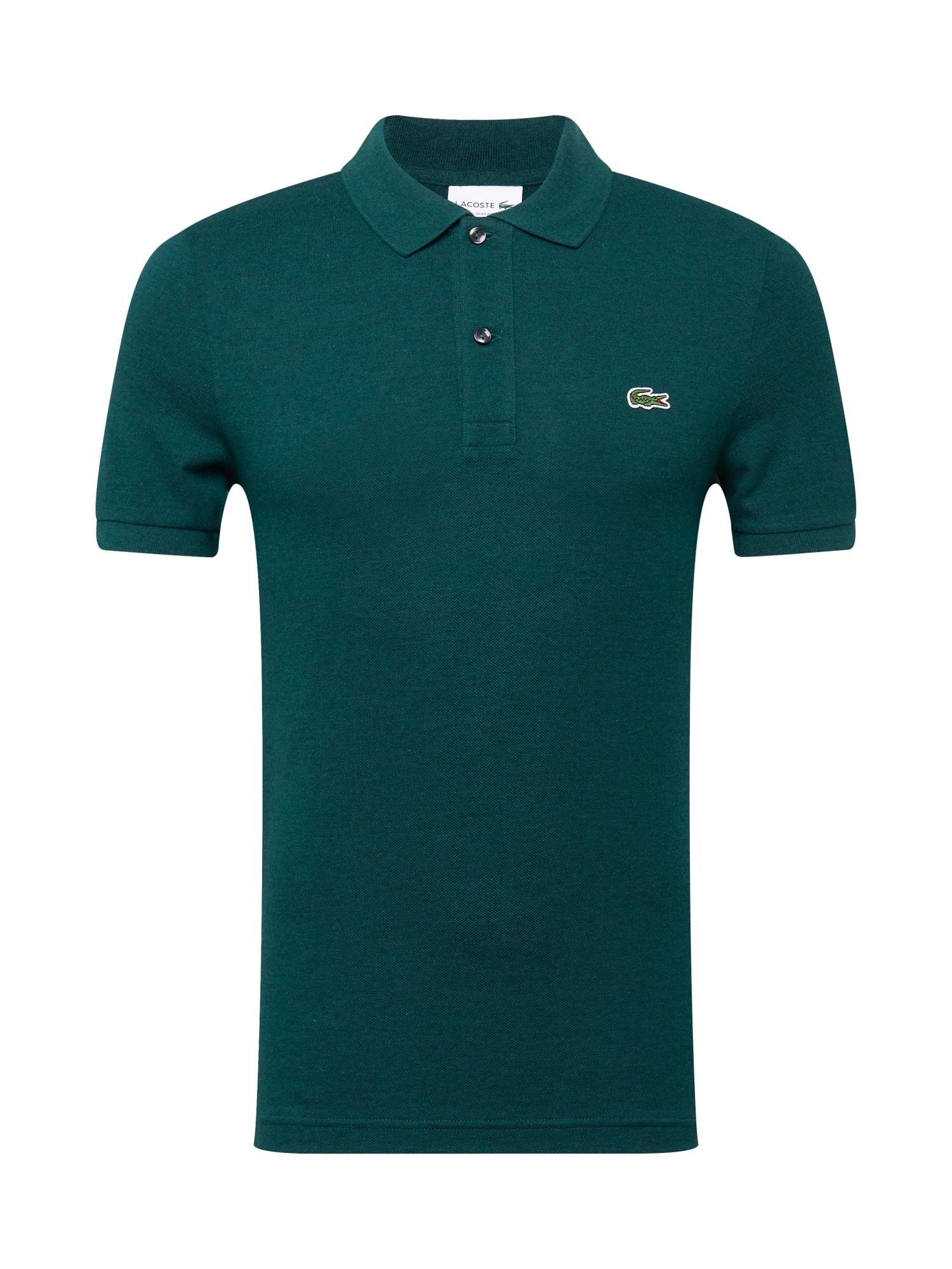 LACOSTE Tričko  smaragdová