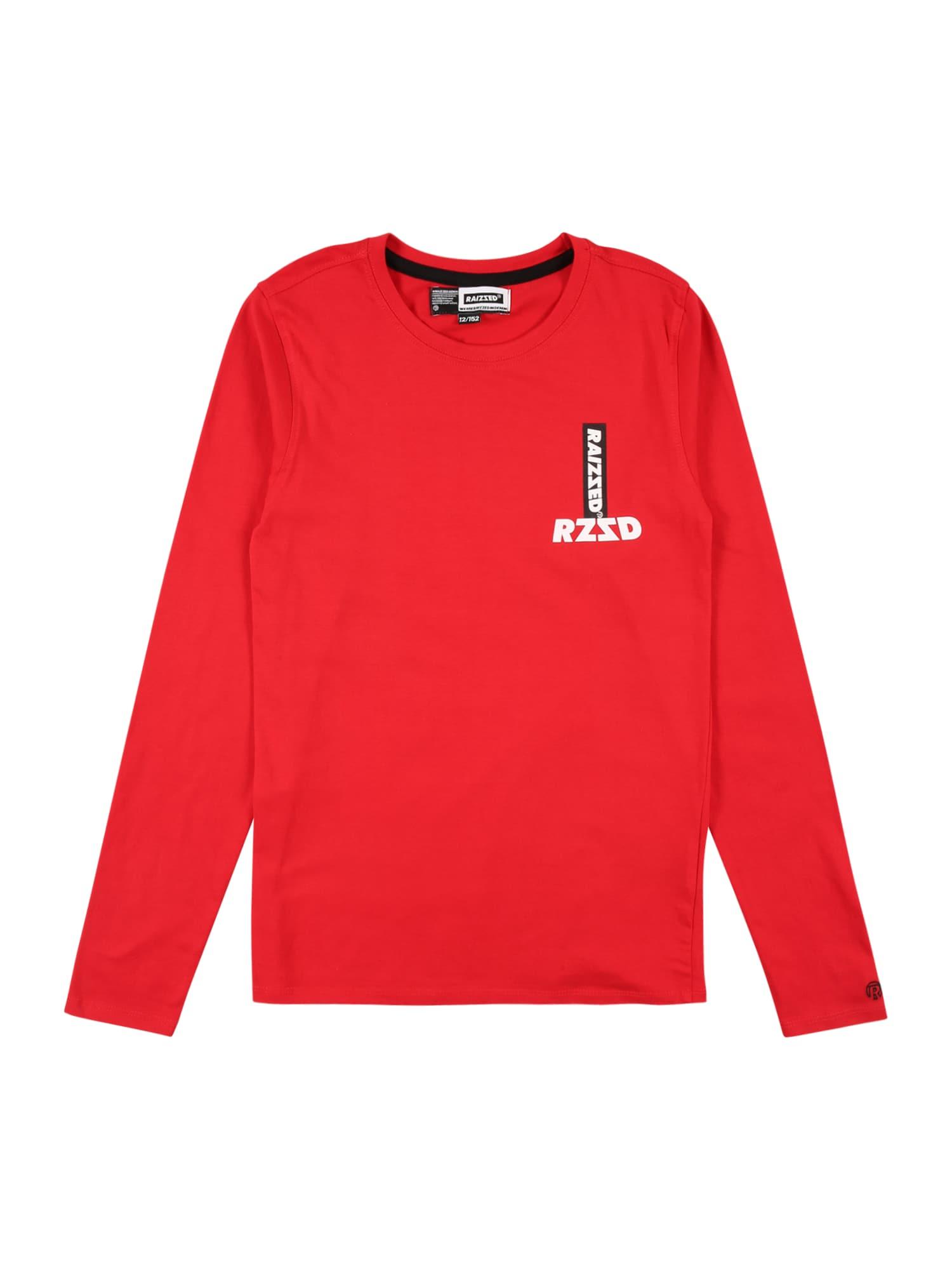 Raizzed Marškinėliai raudona / juoda / balta