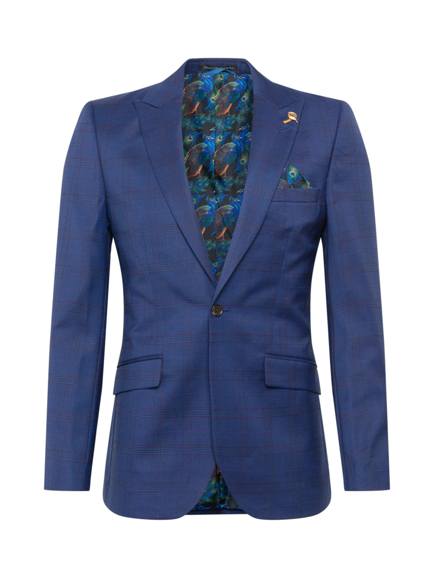 BURTON MENSWEAR LONDON Klasikinis švarkas tamsiai (džinso) mėlyna