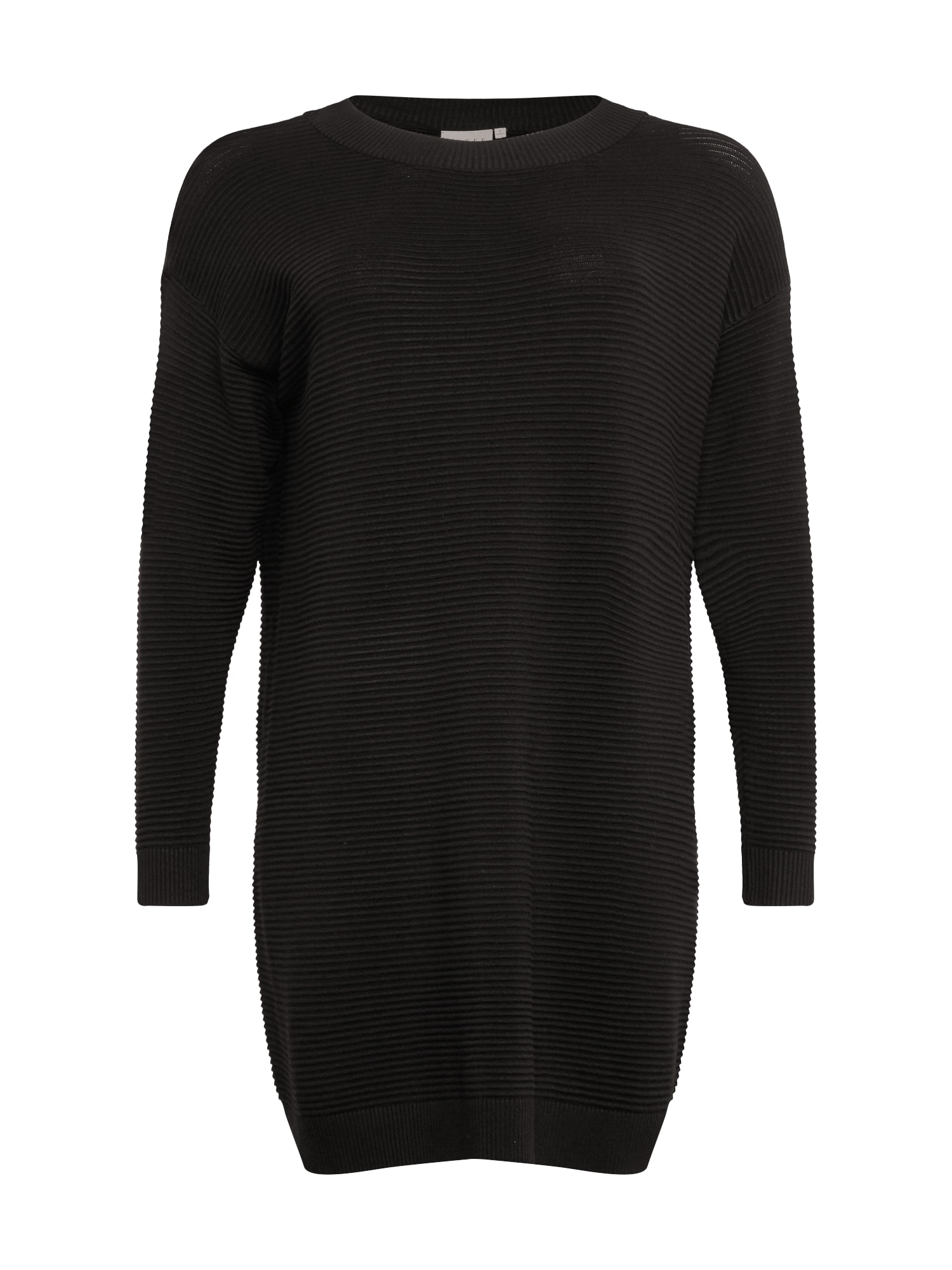 KAFFE CURVE Megzta suknelė juoda