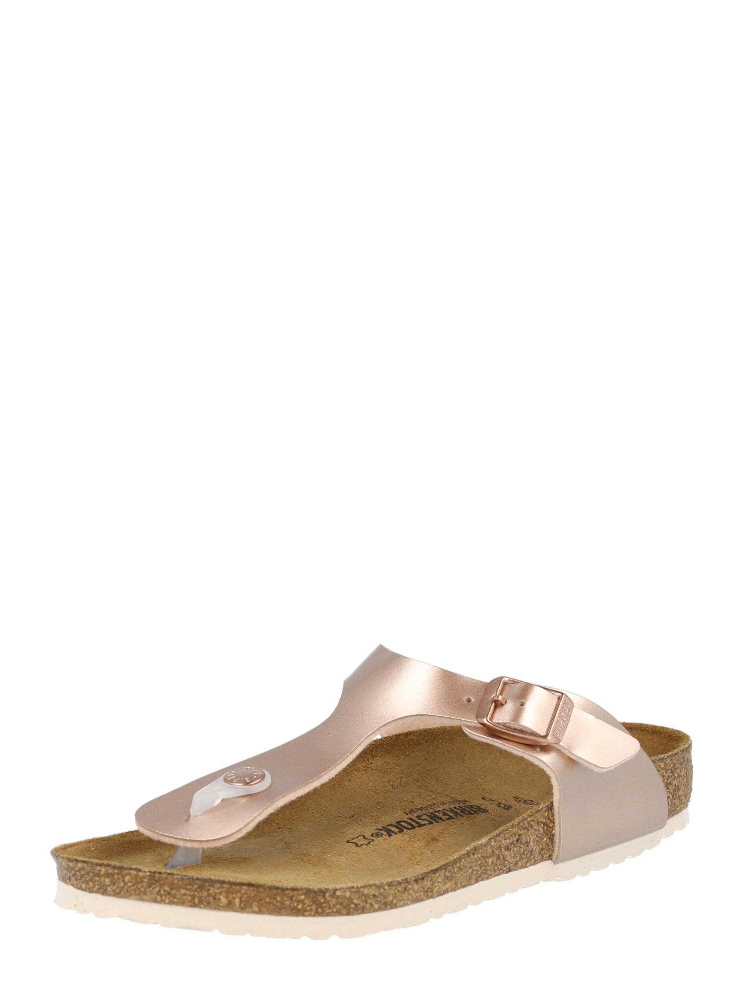 BIRKENSTOCK Sandalai bronzinė