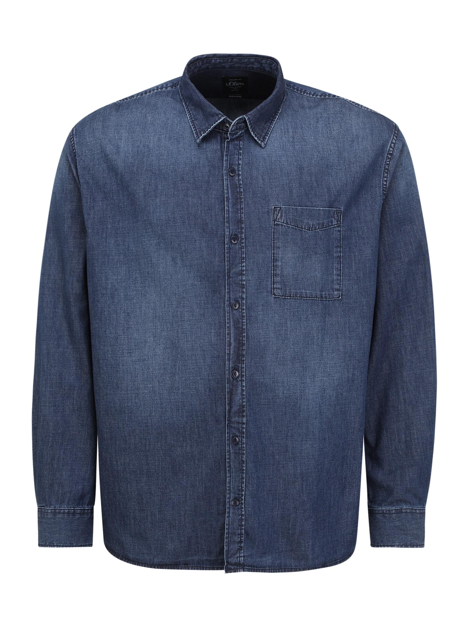 s.Oliver Red Label (Plus) Marškiniai tamsiai (džinso) mėlyna