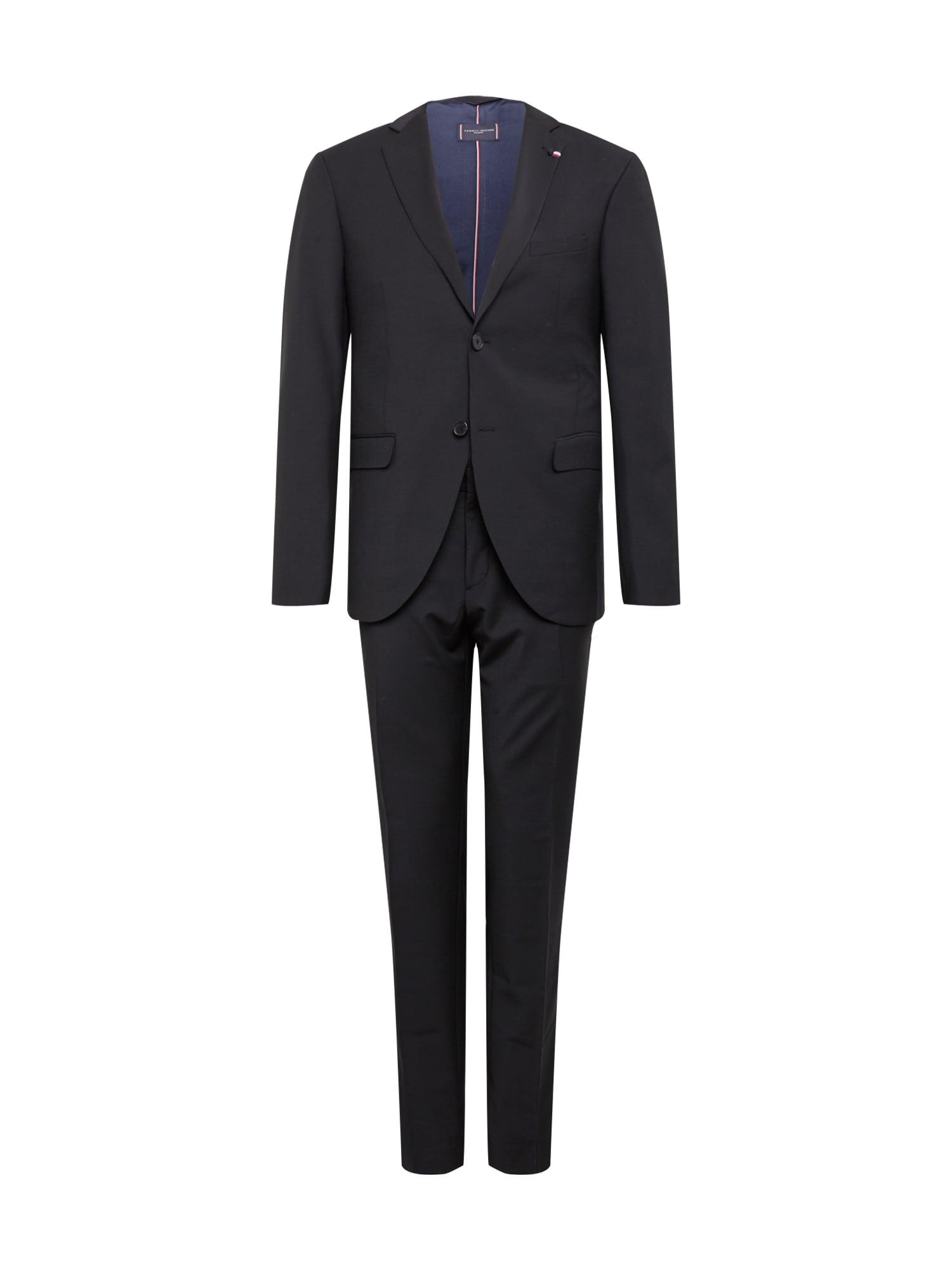 Tommy Hilfiger Tailored Kostiumas juoda