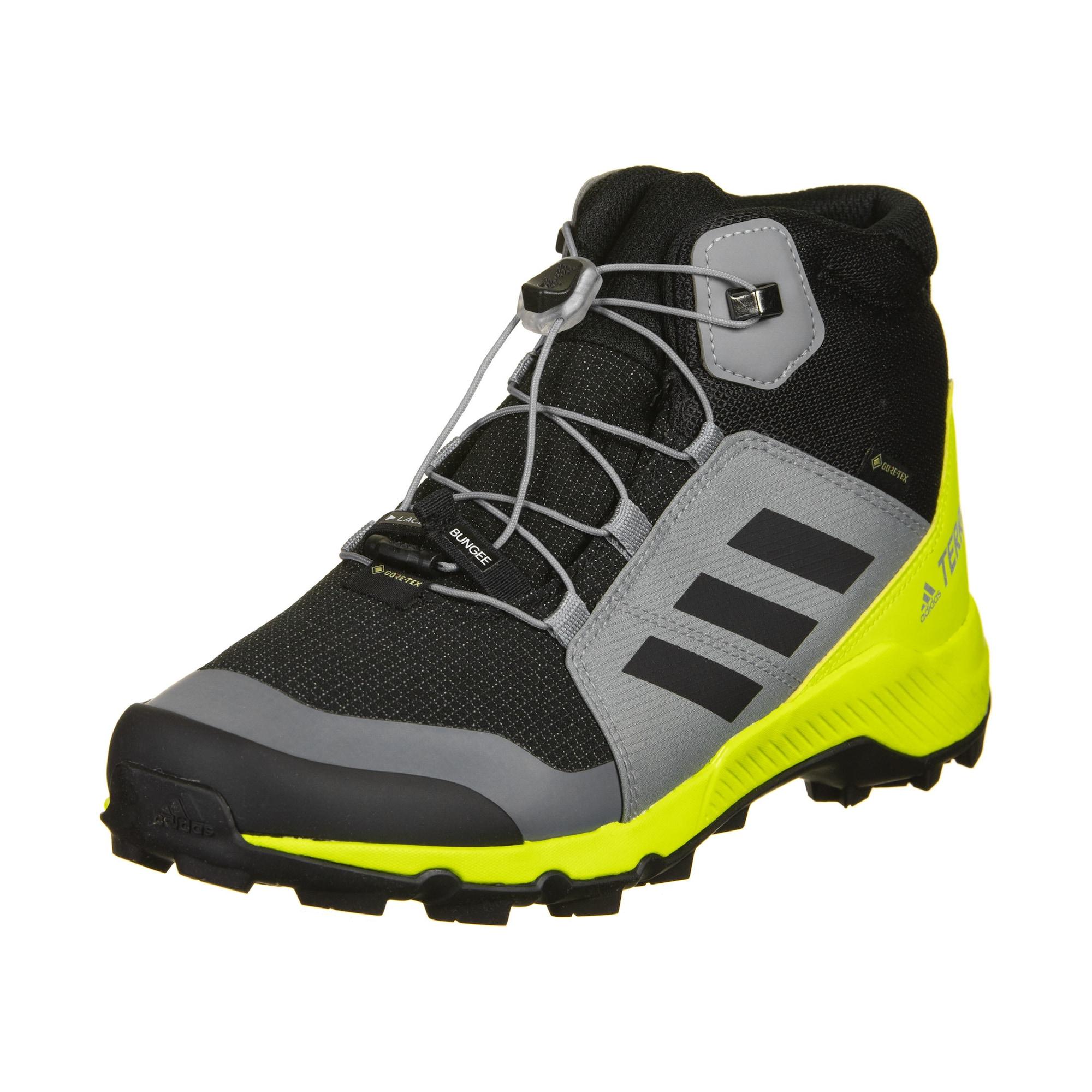 ADIDAS PERFORMANCE Auliniai batai juoda / geltona / pilka